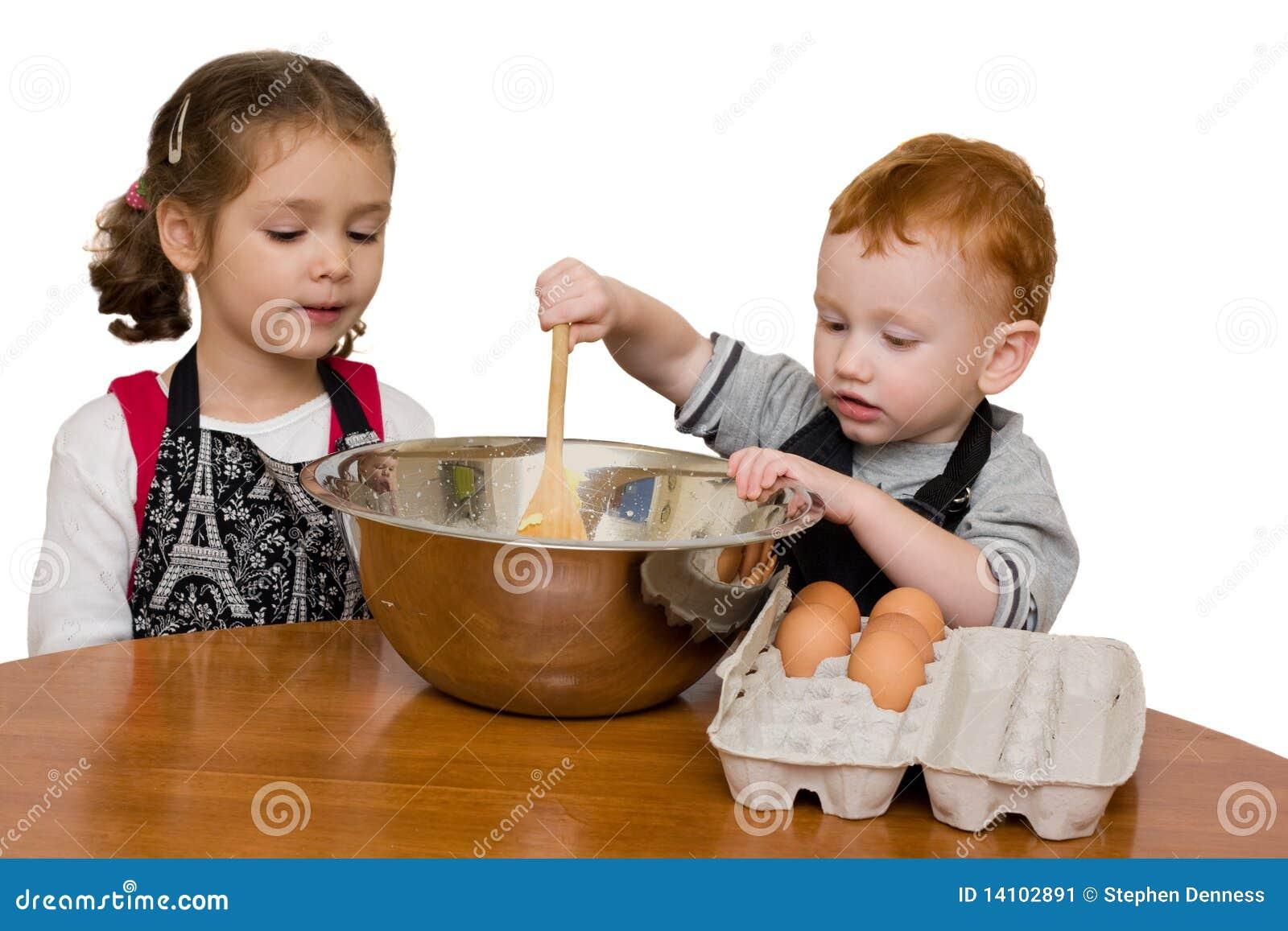 El cocinar de los cabritos