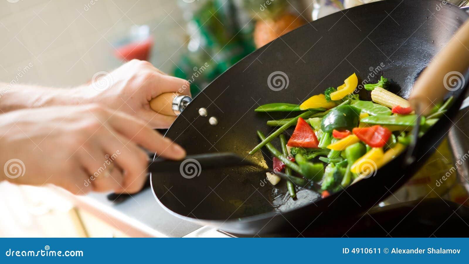 El cocinar del cocinero
