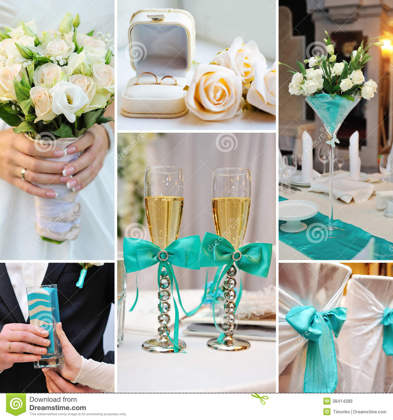 Decoracion de boda con azul turquesa car interior design for Budas decoracion interior