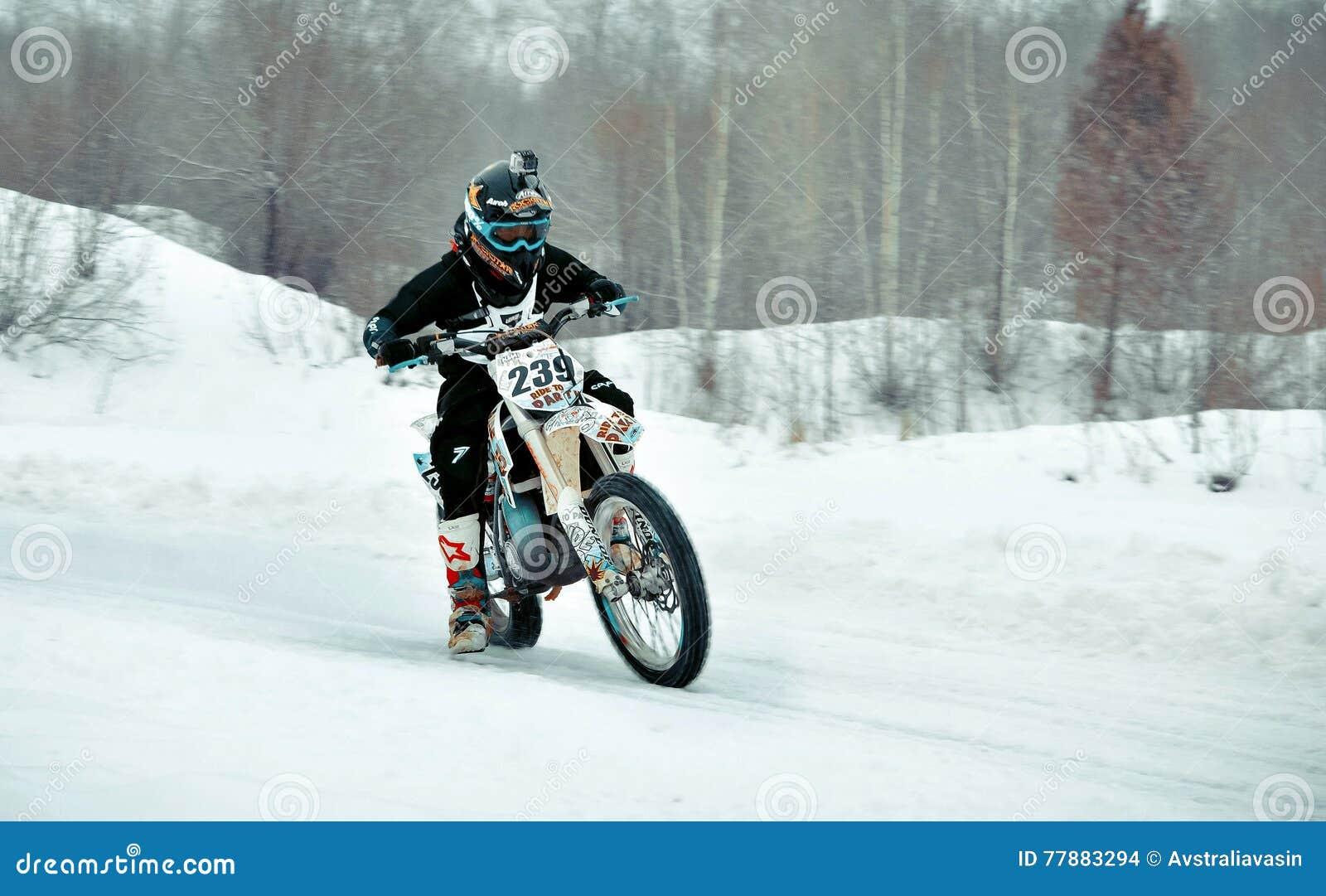 El Competir Con De La Motocicleta Imagen de archivo editorial