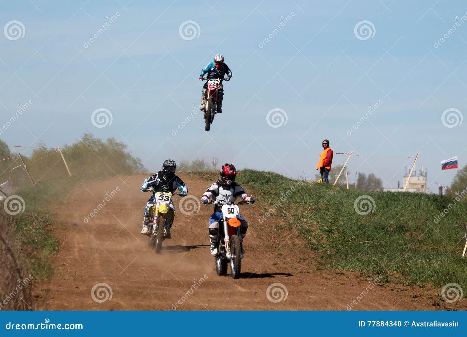 El Competir Con De La Motocicleta Imagen editorial