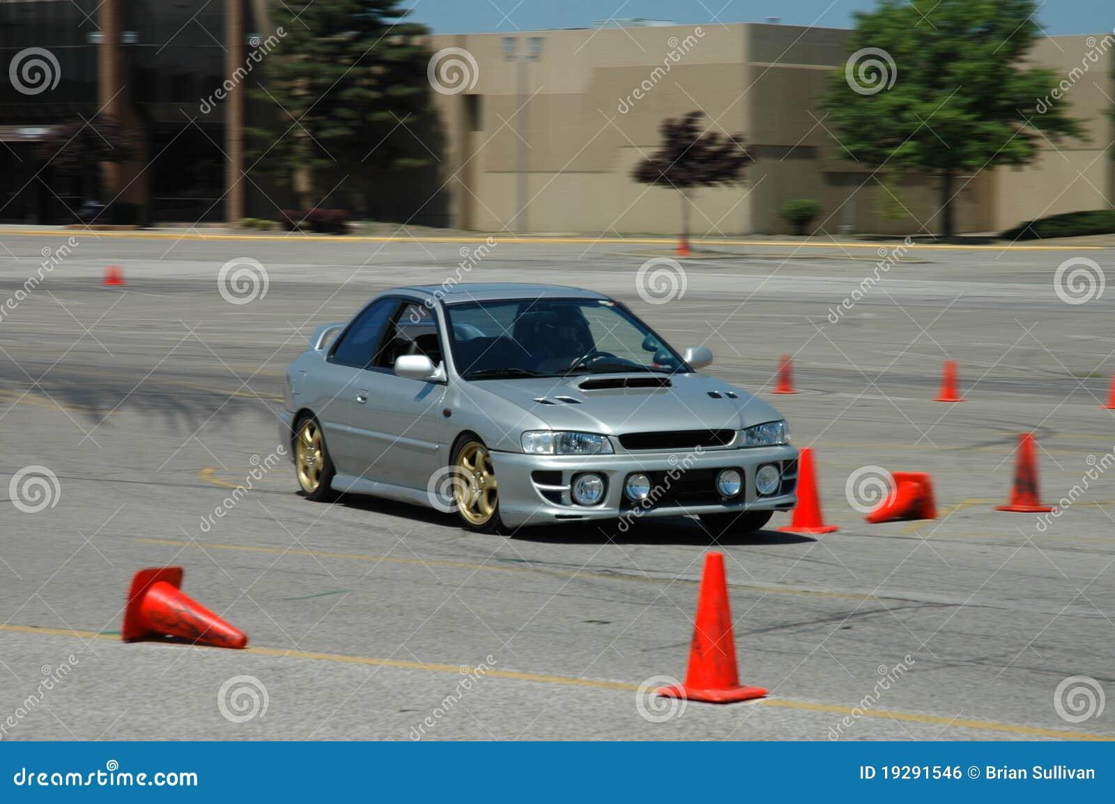 El competir con de Subaru Impreza