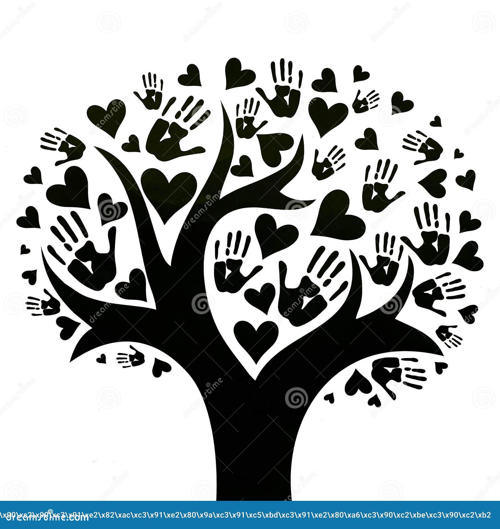 El Concepto De Paz De Unidad De Amistad Y De Amor Stock De Ilustracion Ilustracion De Amor Concepto 142090493