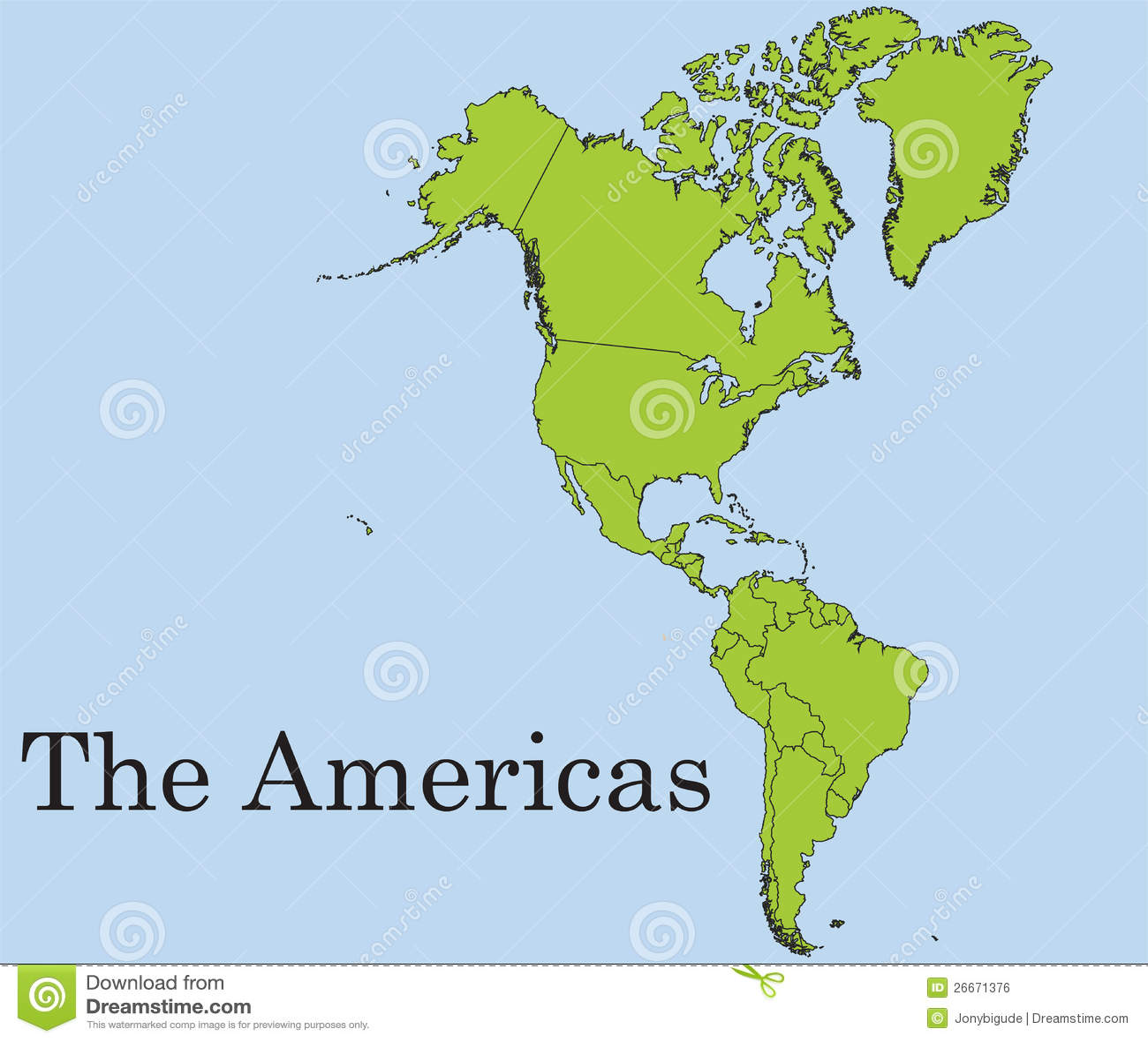 image Forgetten dreams continente americano