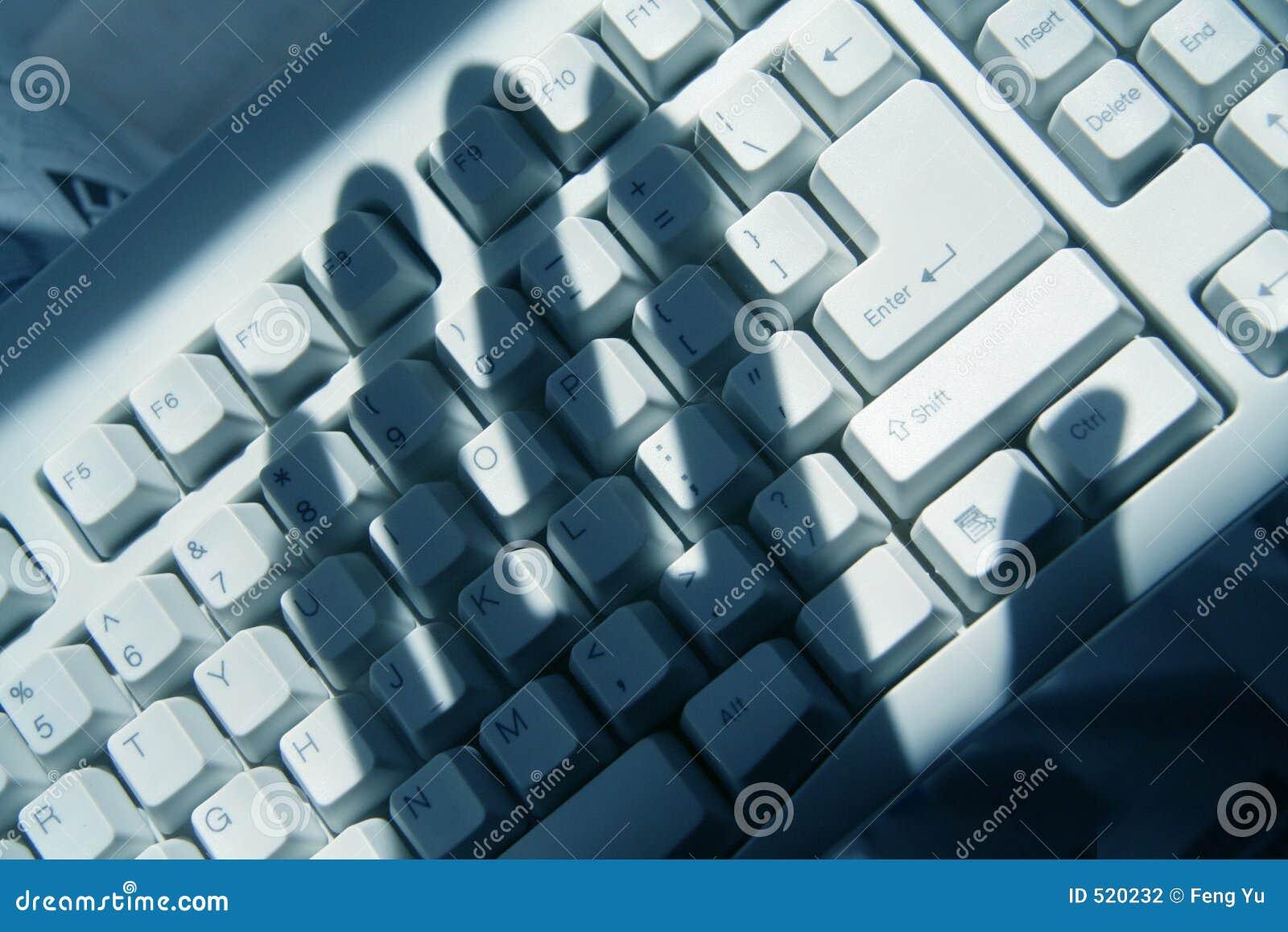 El cortar del ordenador