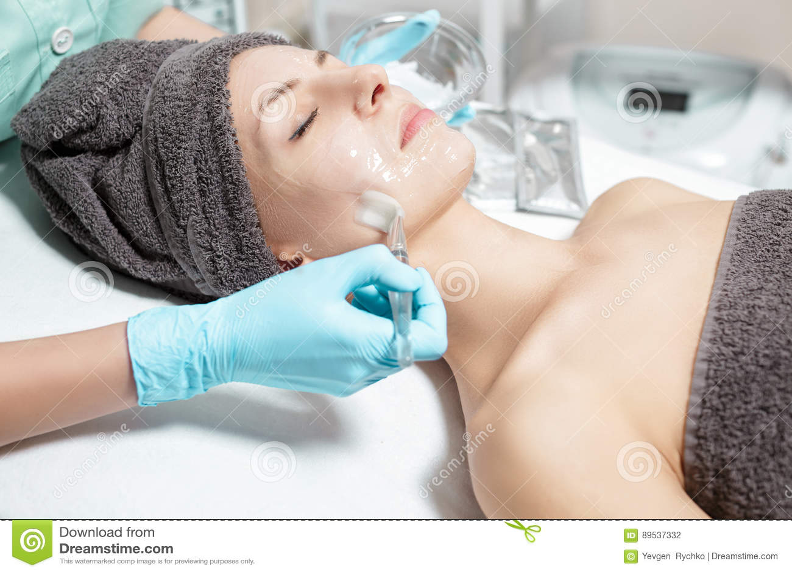 La máscara para el blanqueamiento de la piel las revocaciones