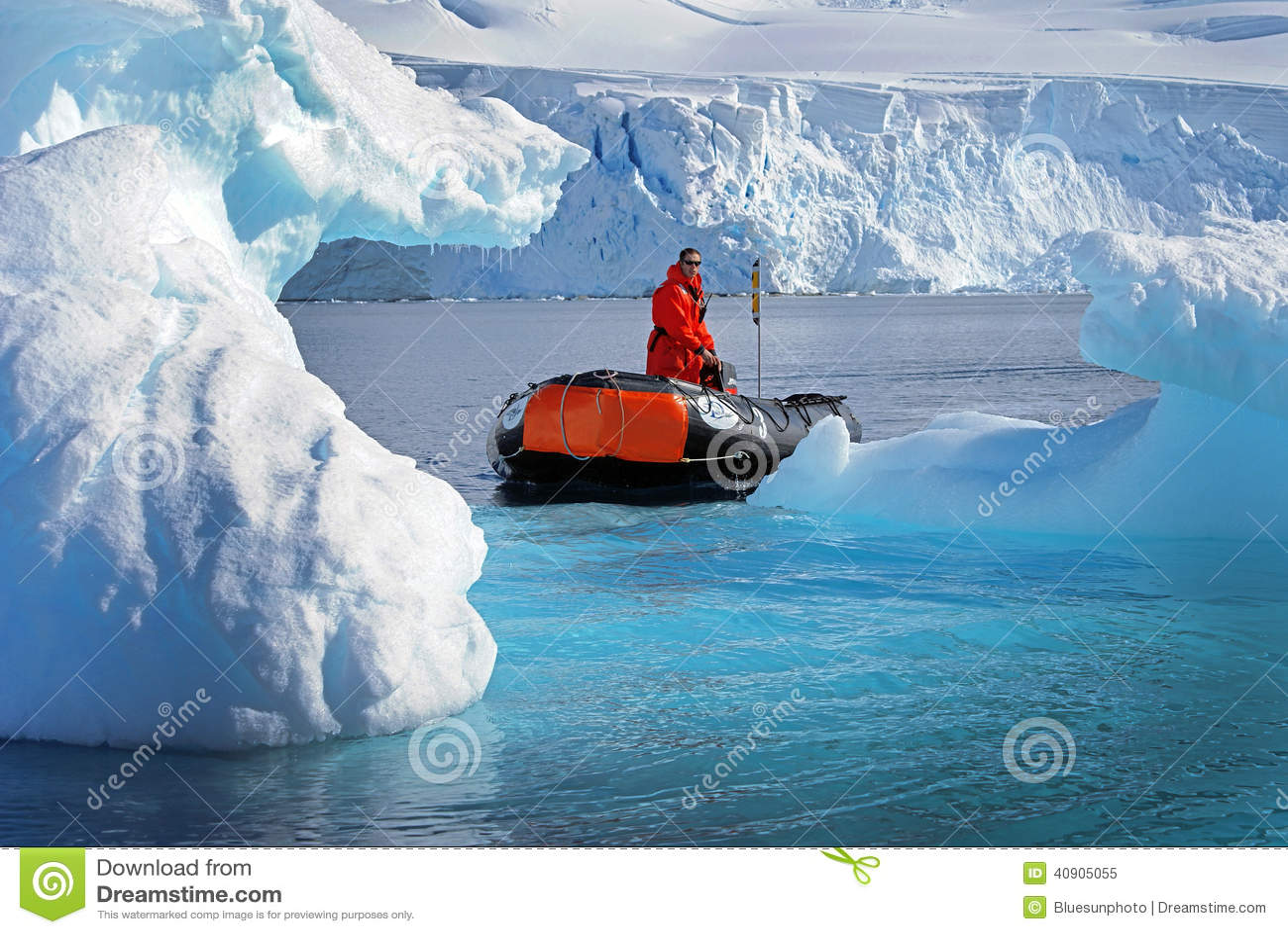 El cruzar del iceberg