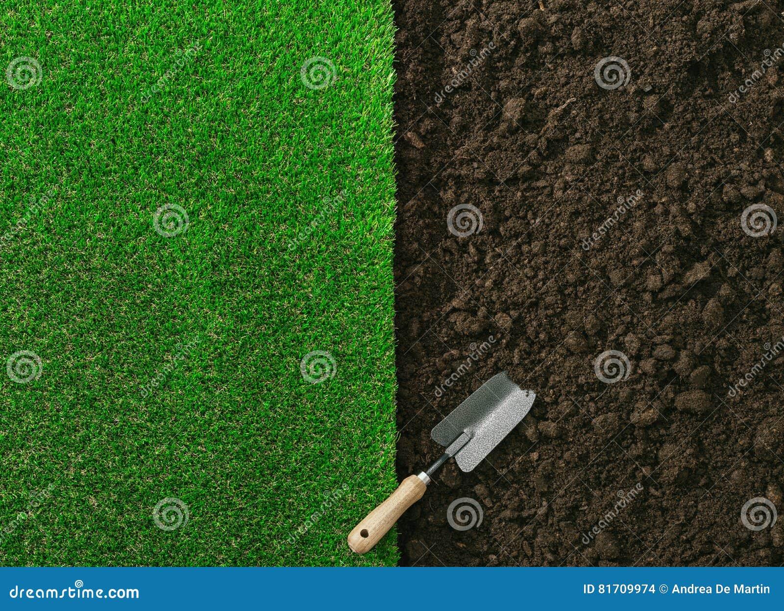 El cultivar un huerto y el ajardinar