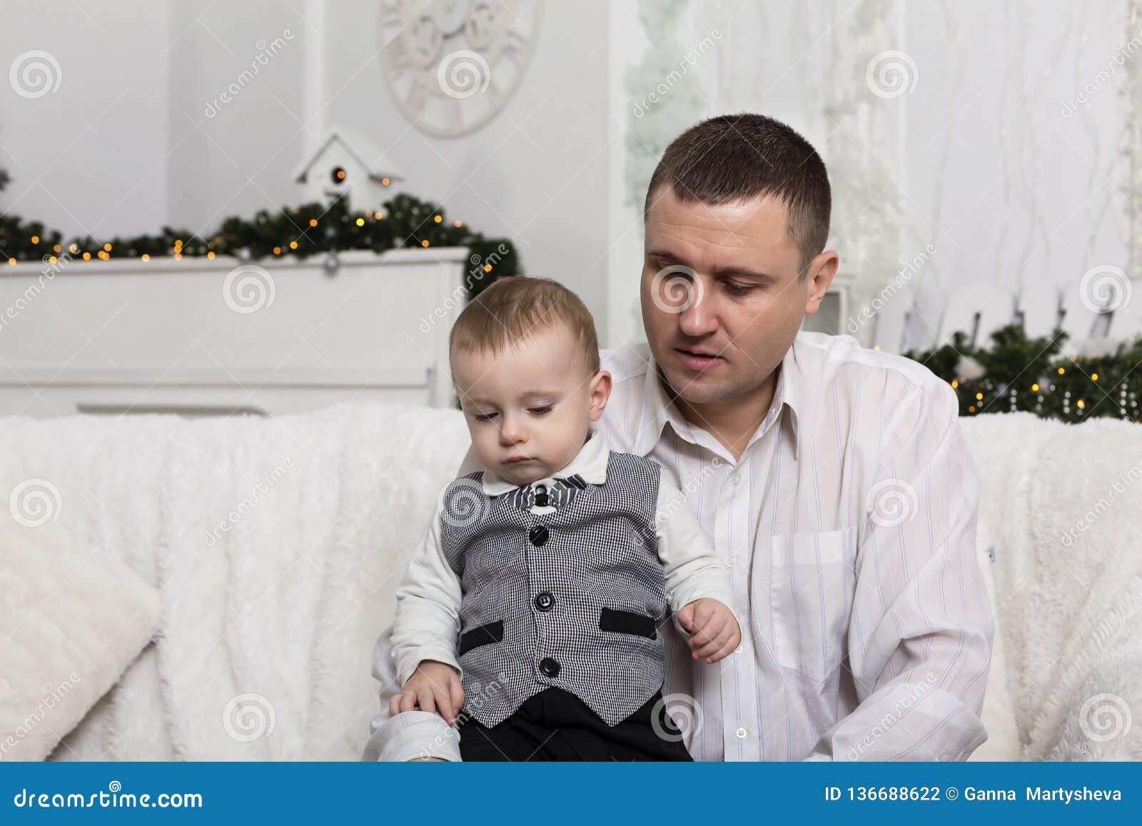 El día de padre, padre del hijo del amor de la familia del padre