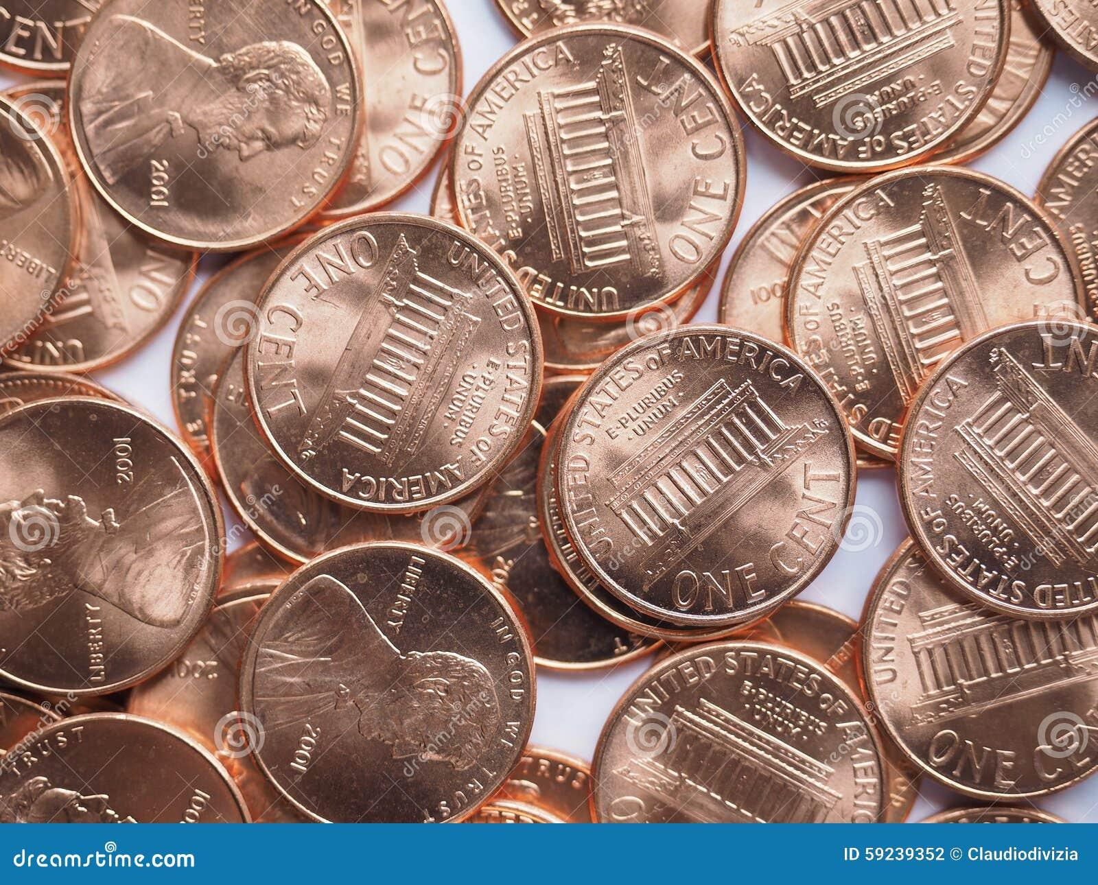 Download El dólar acuña el fondo foto de archivo. Imagen de banking - 59239352