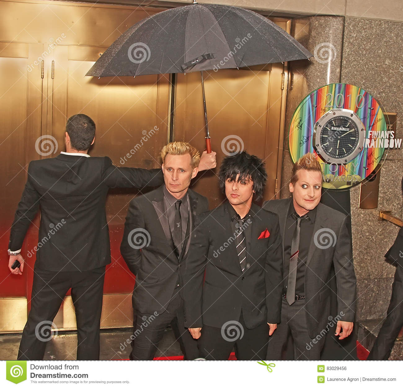 El ` de Green Day del ` llega 64.o Tony Awards anual en 2010