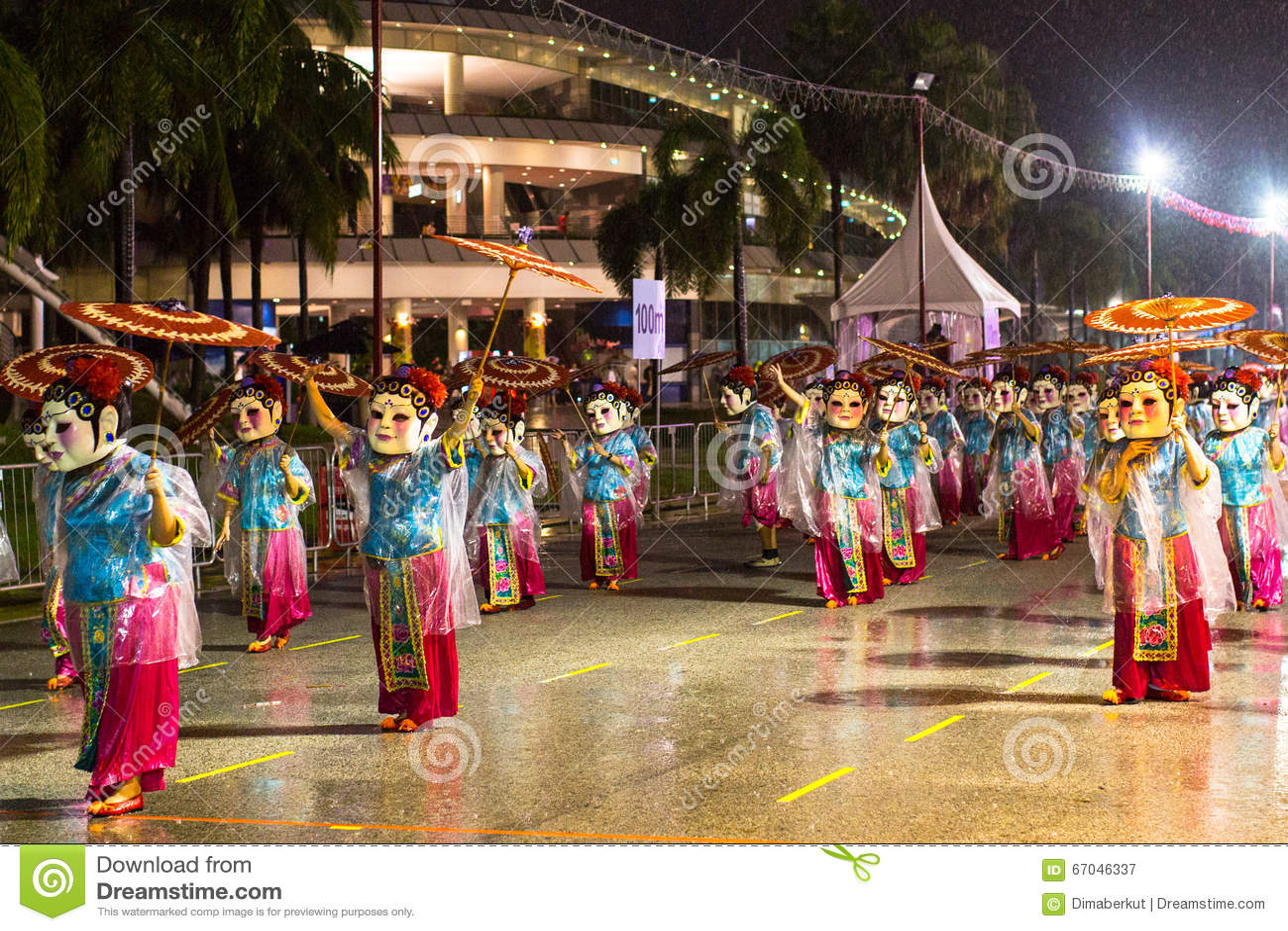 El Desfile De Chingay Se Lleva A Cabo Durante El Ano Nuevo Chino