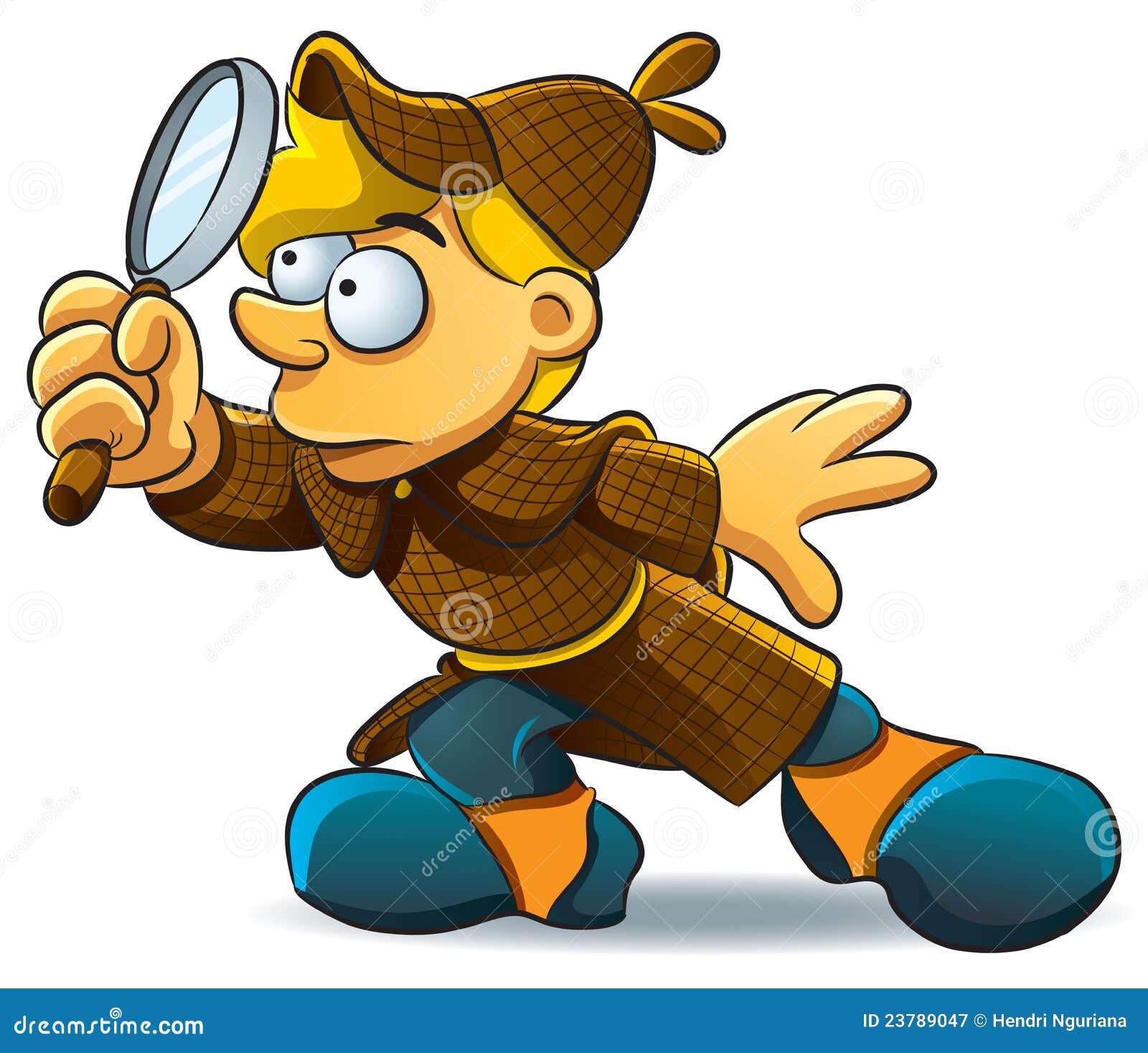 El detective investiga