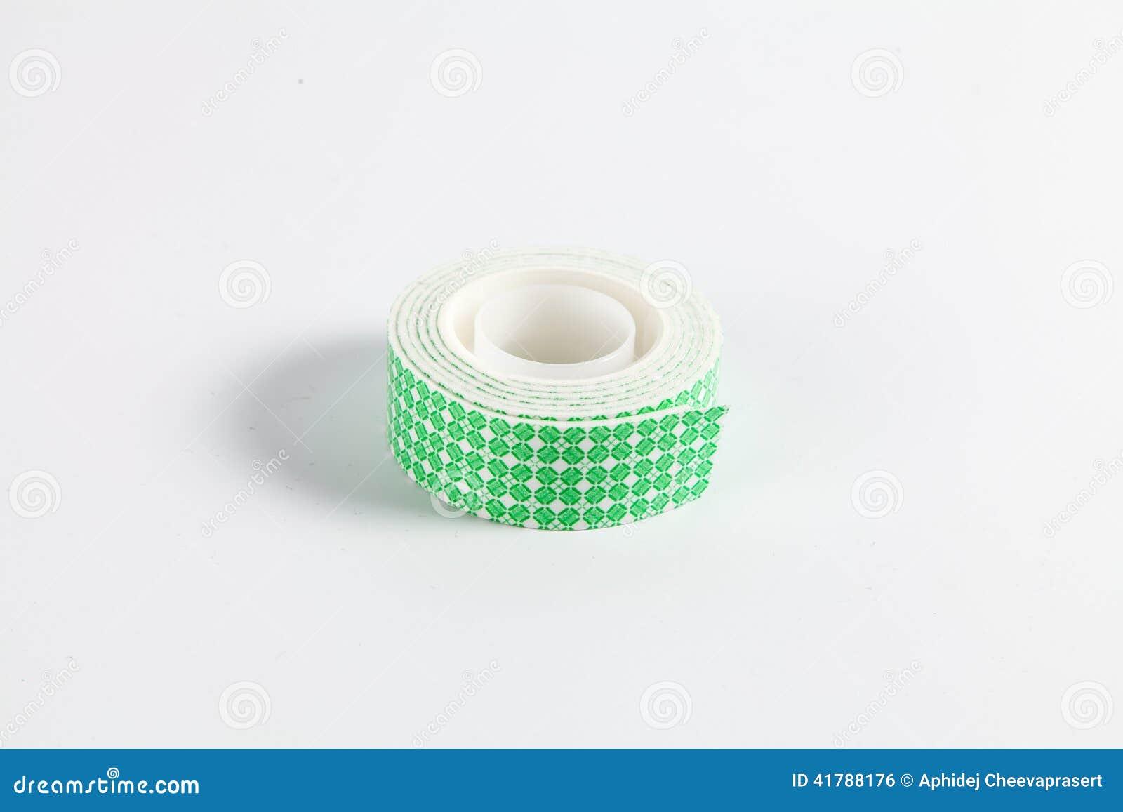 El doble echó a un lado cinta de la espuma