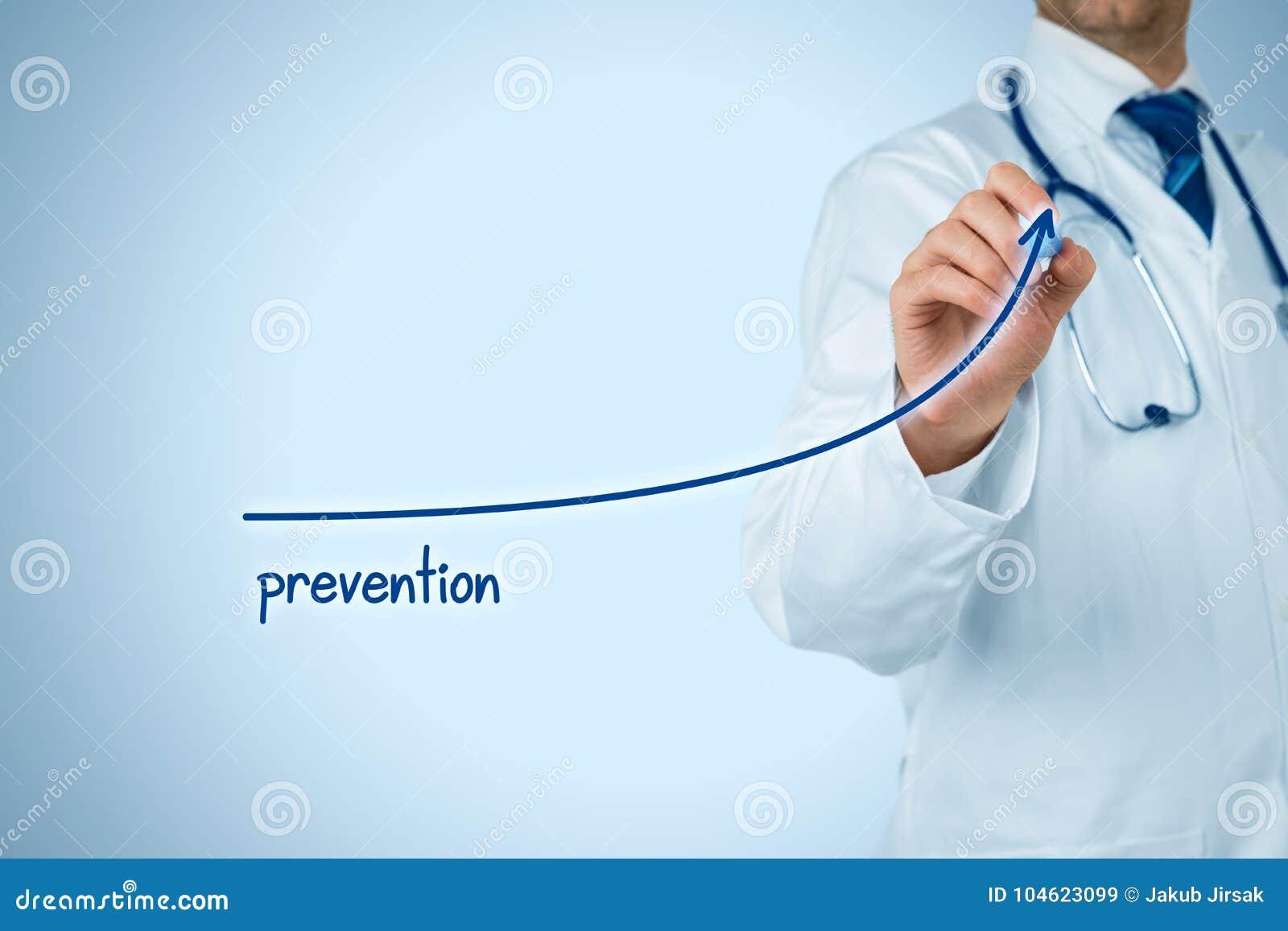 El doctor mejora la prevención