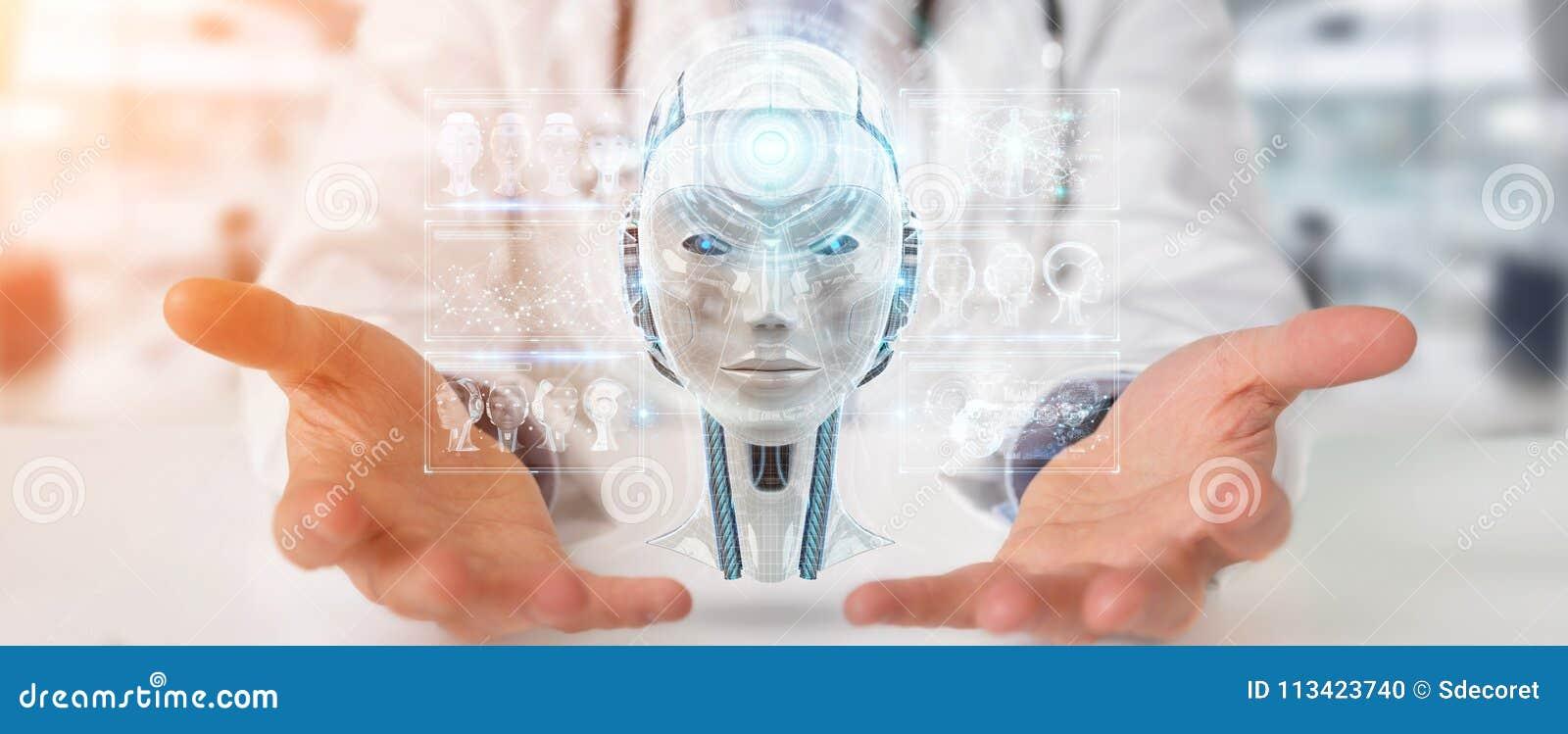 El doctor que usa el interfaz digital 3D de la inteligencia artificial rinde