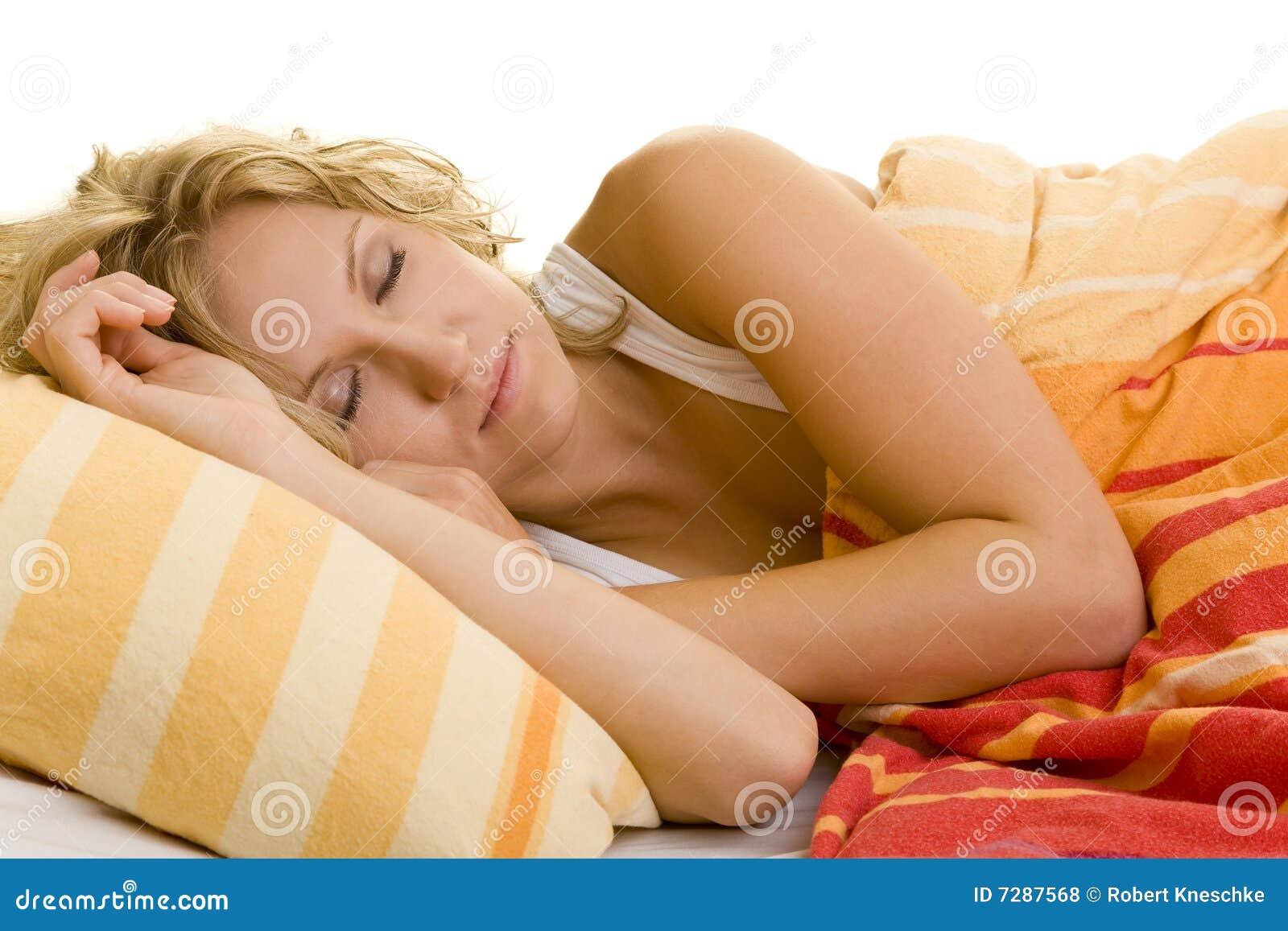 El dormir en cama