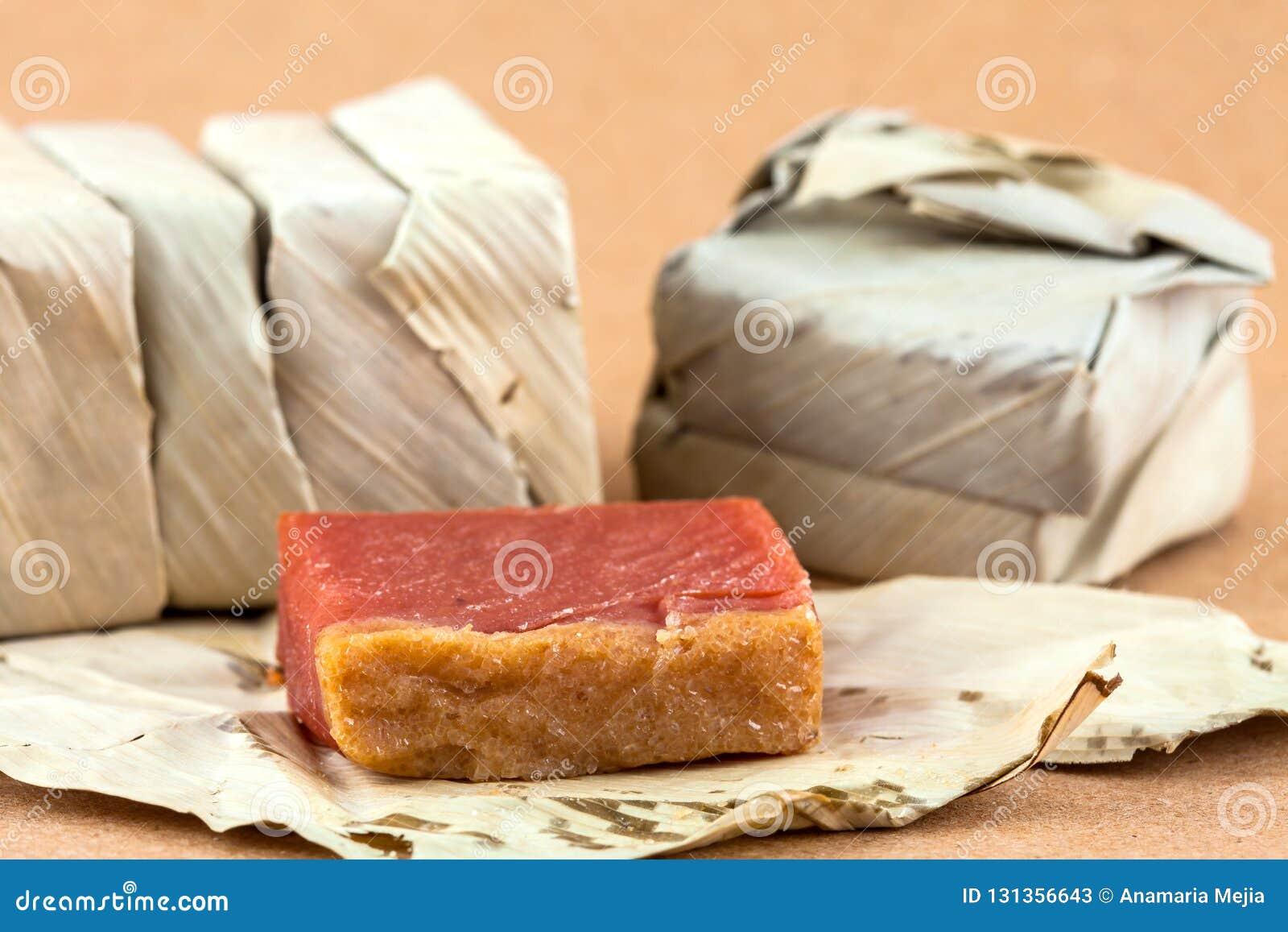 El dulce colombiano tradicional llamó Bocadillo