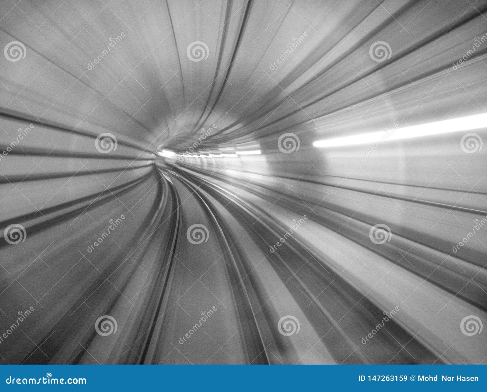 El efecto abstracto del movimiento del MRT, imagen tiene grano o borroso o ruido y foco suave cuando visión en la resolución comp