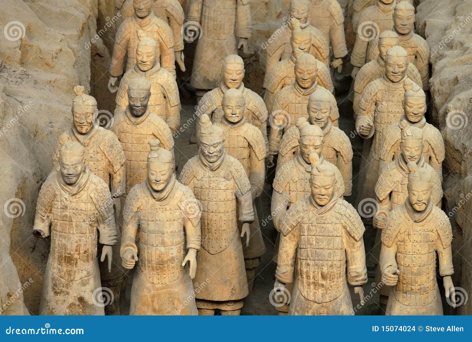 El ejército de la terracota - China