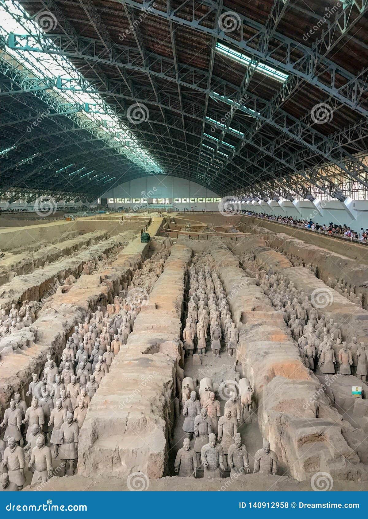 El ejército de la terracota, Xi an, China