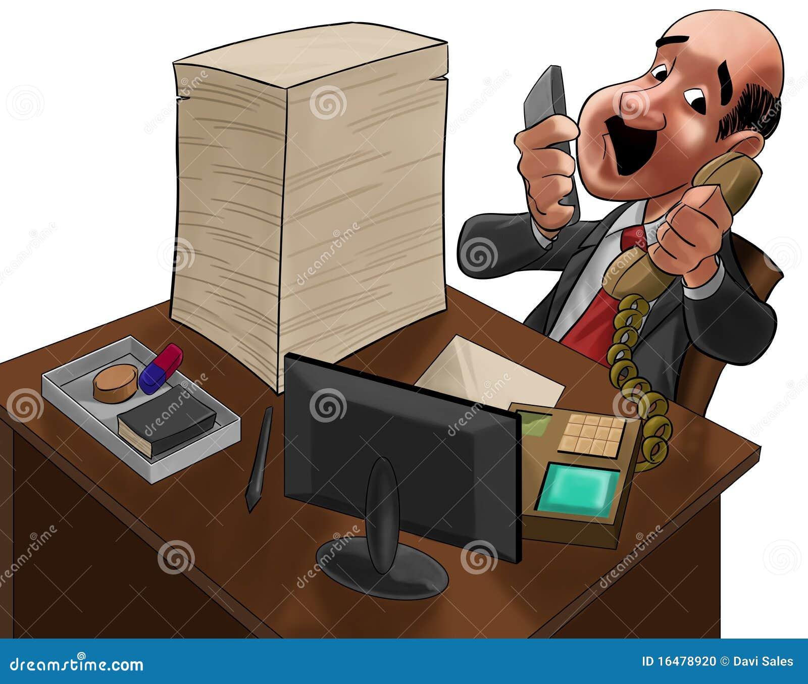 El ejecutivo demasiado ocupado