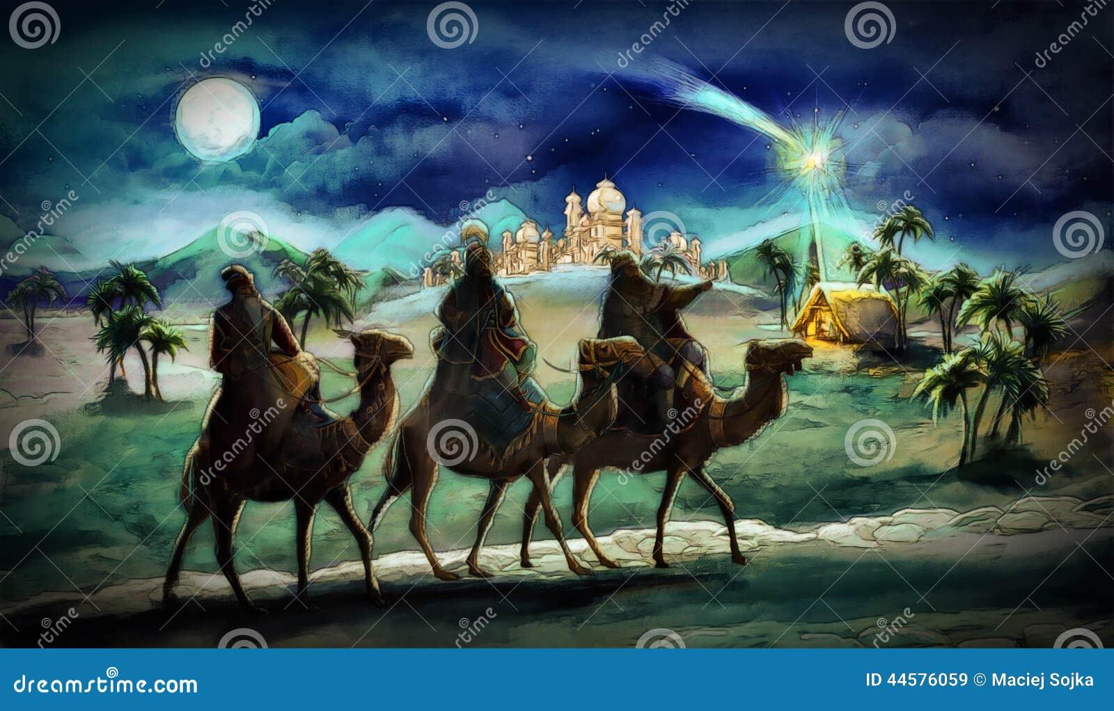 El ejemplo de la familia santa y de tres reyes
