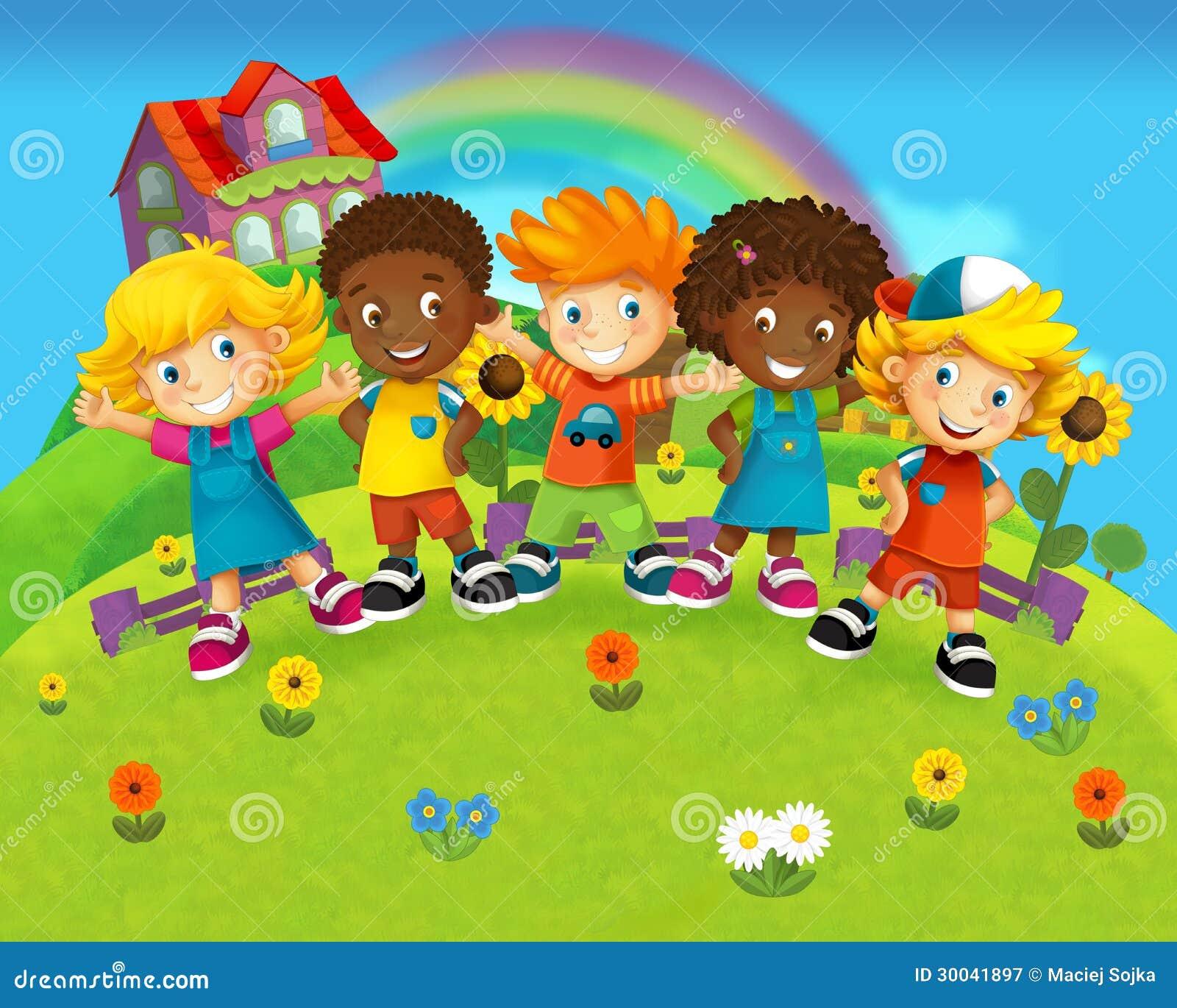 Dibujos De Ninos Preescolares
