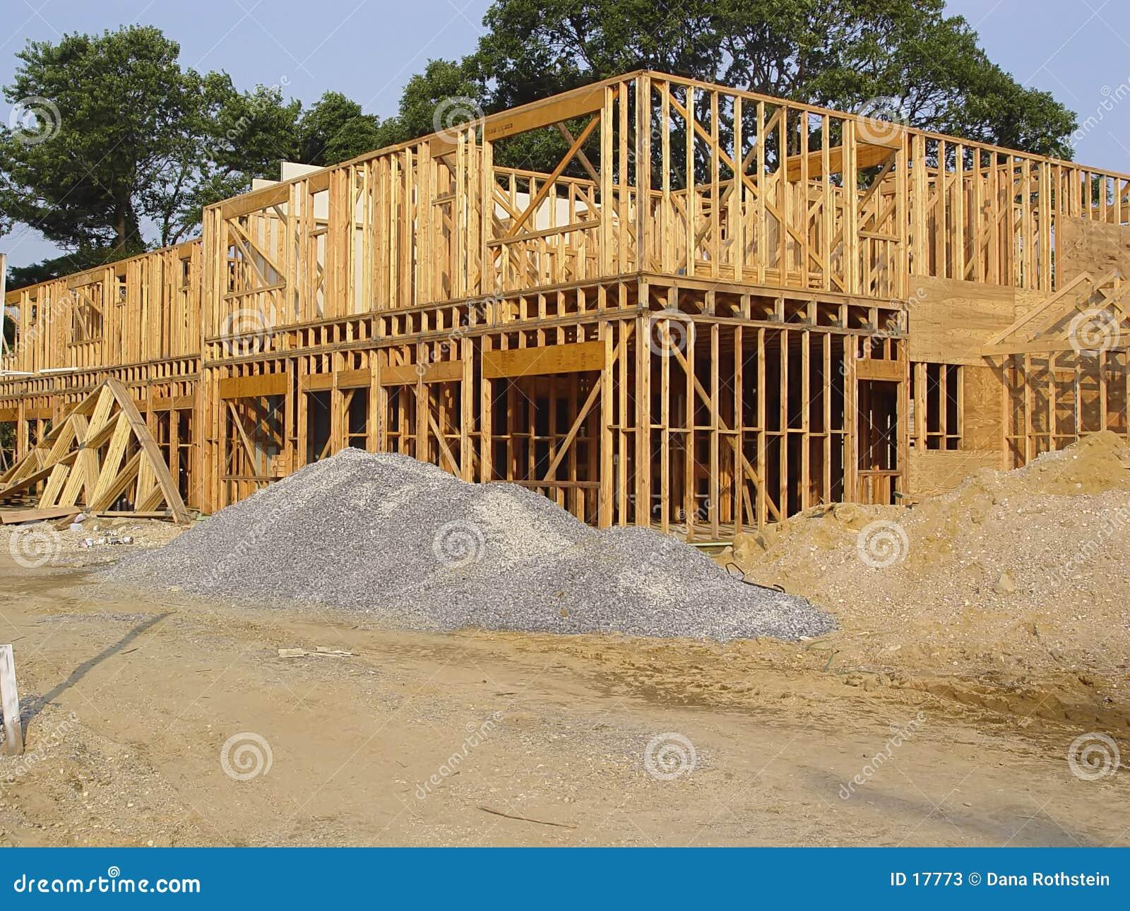 El enmarcar de madera