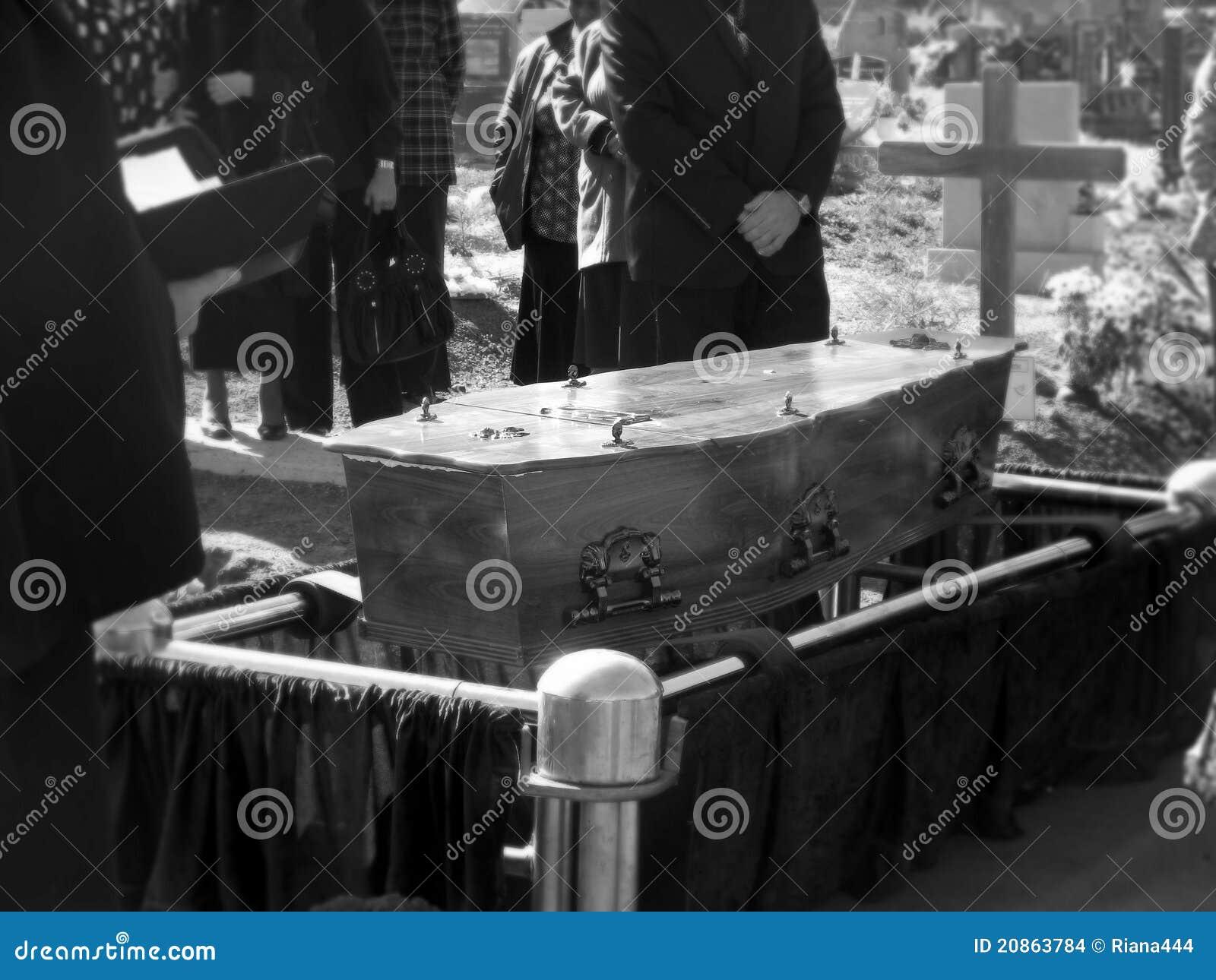 El entierro