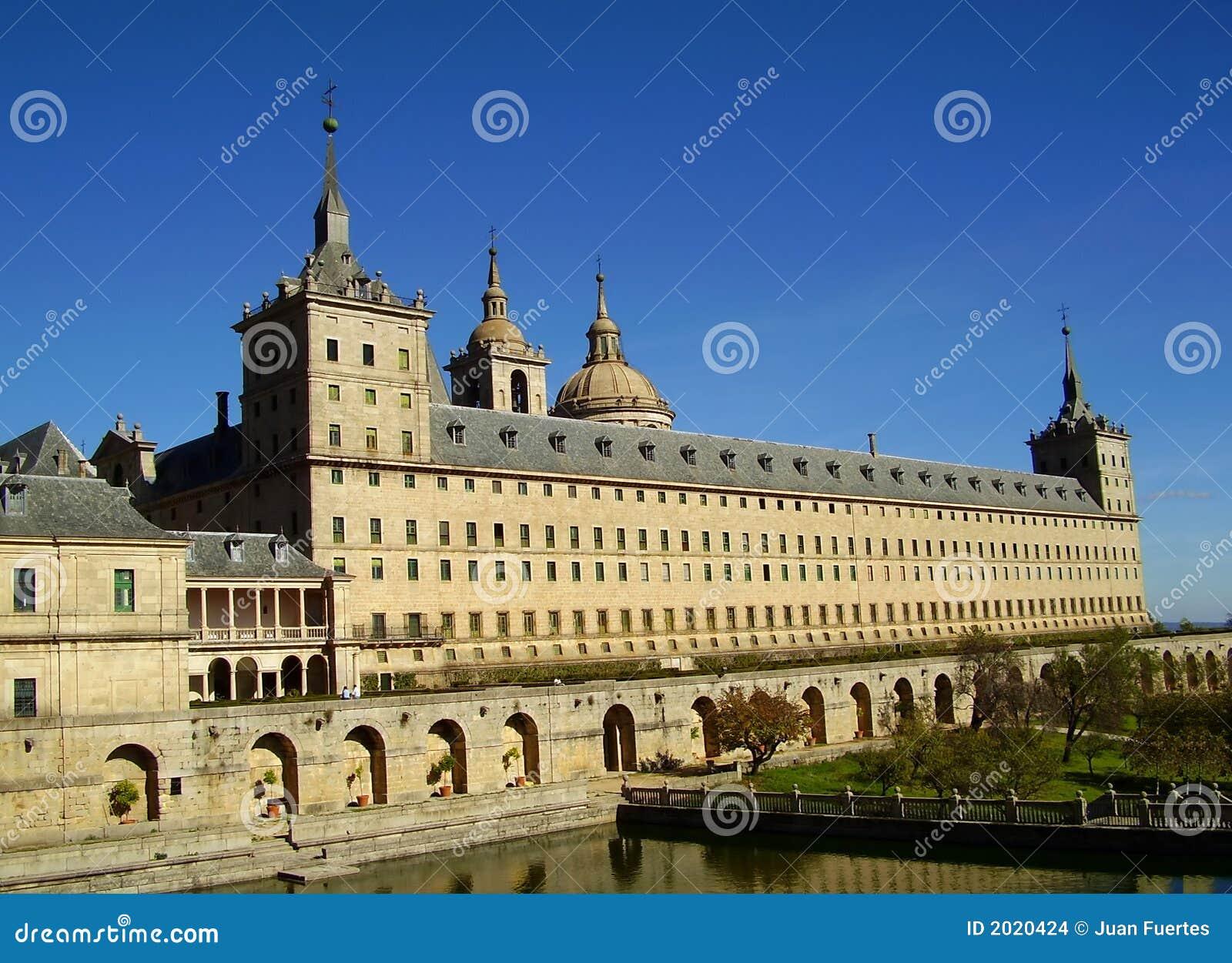 El escorial马德里修道院西班牙