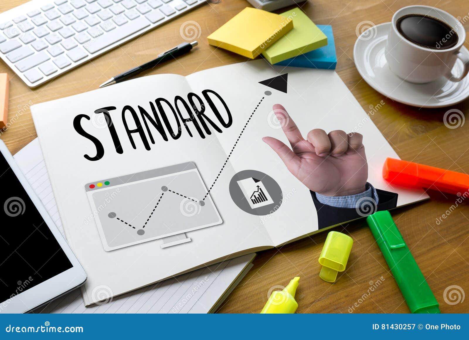 El ESTÁNDAR va garantía de calidad, procedimiento estándar, I