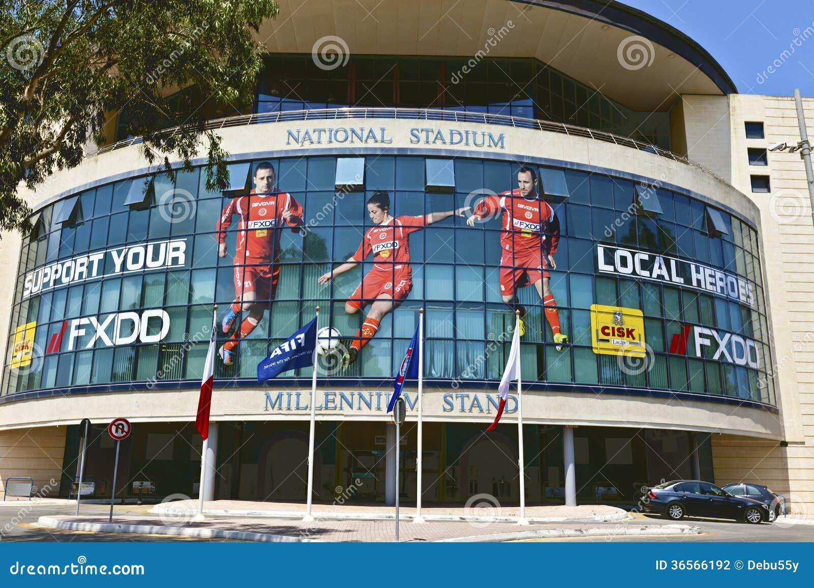 El estadio nacional de Malta.