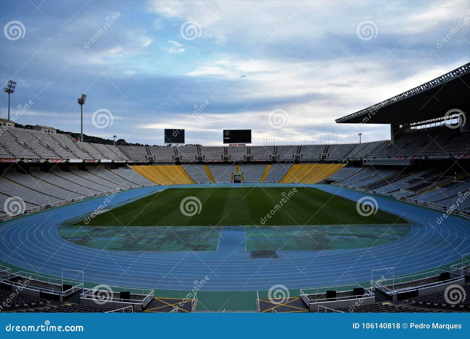 El Estadio Olimpico Barcelona Juegos Olimpicos De 1992 Foto De
