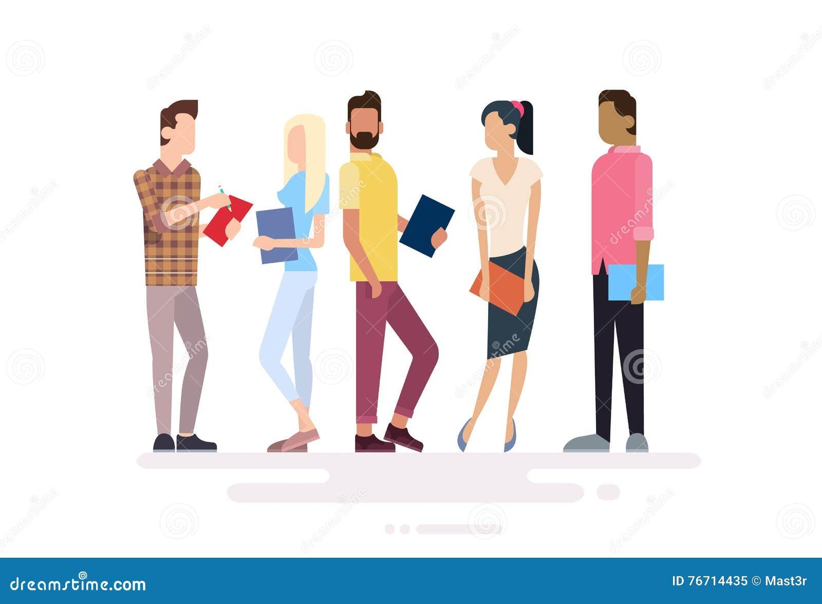 El estudiante Group People Holding reserva la educación