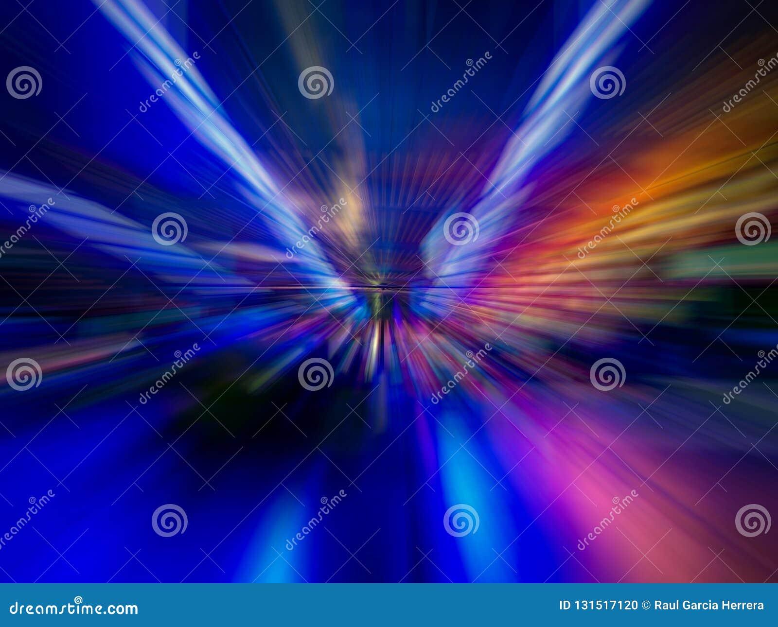 El extracto colorido alinea el fondo Líneas lisas abstractas
