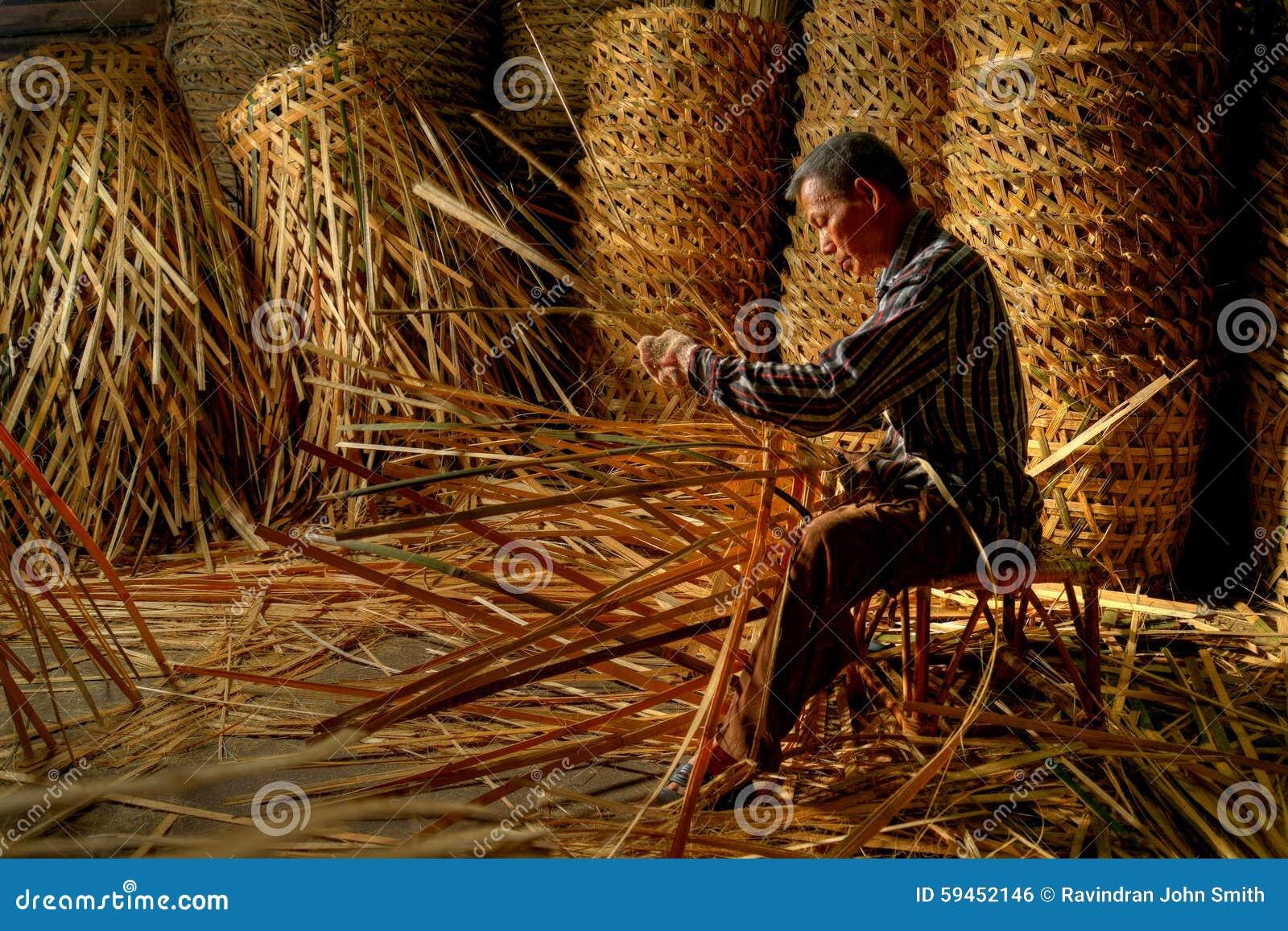 El fabricante de cesta