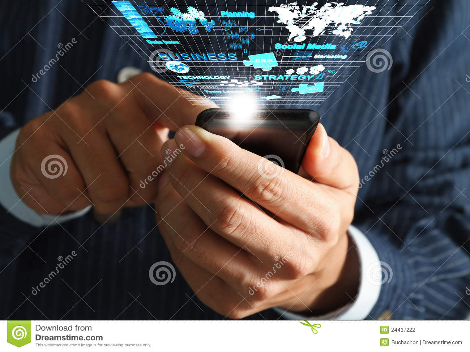 El fluir del teléfono móvil