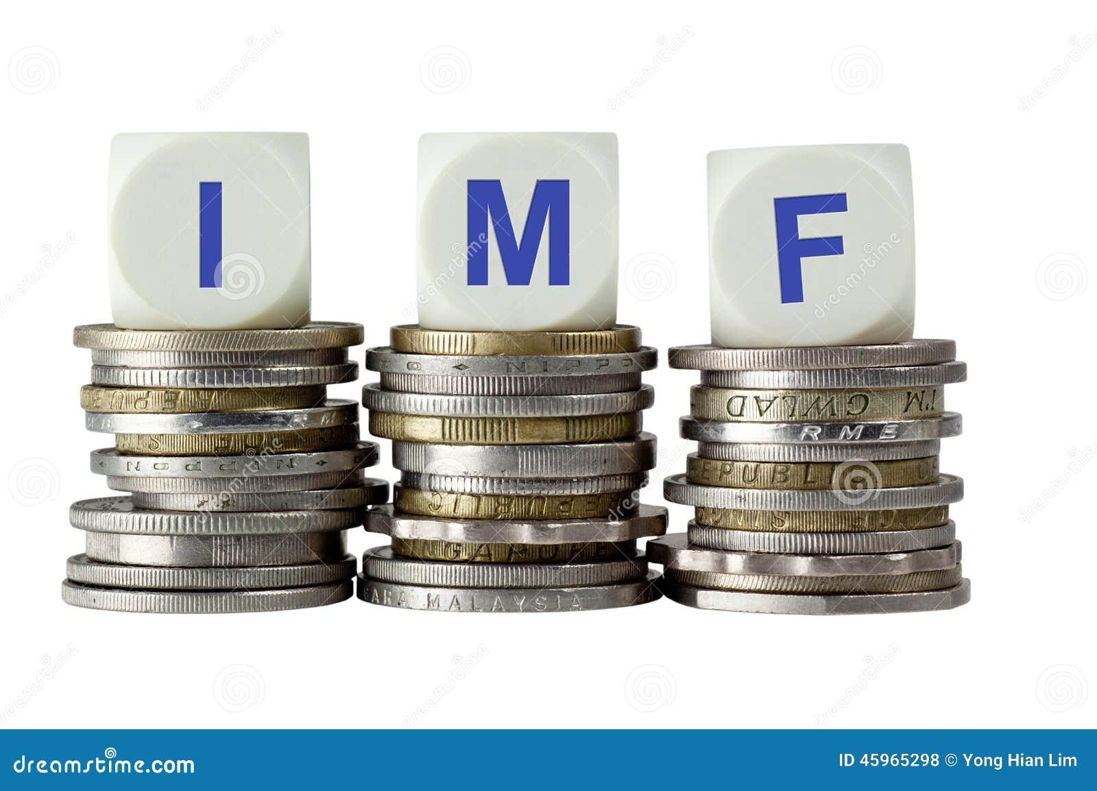 EL FMI - Fondo Monetario Internacional Foto de archivo - Imagen ...