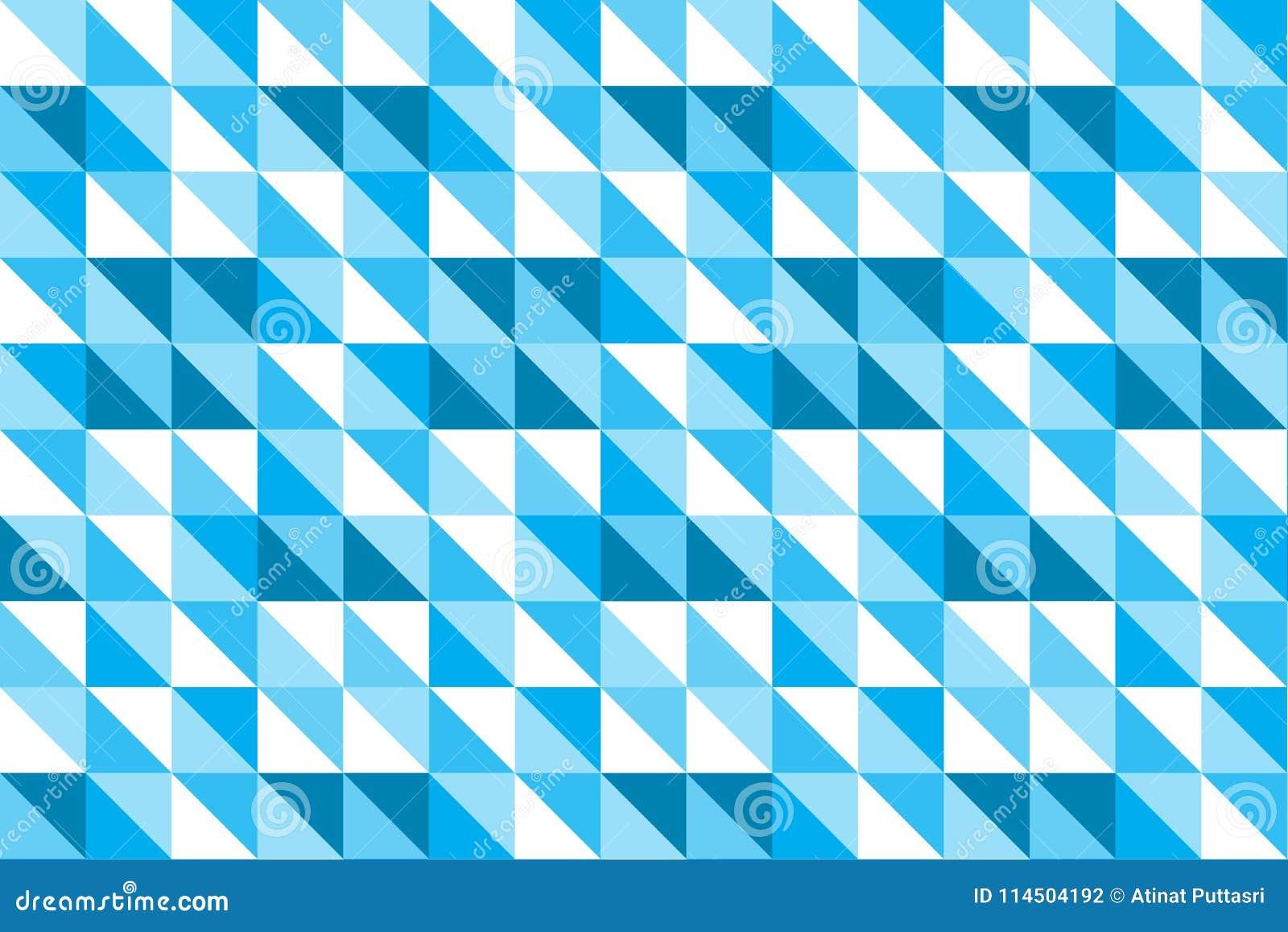 a6a3156f5c78e El fondo abstracto azul del vector del triángulo y del modelo de las formas  geométricas cuadradas