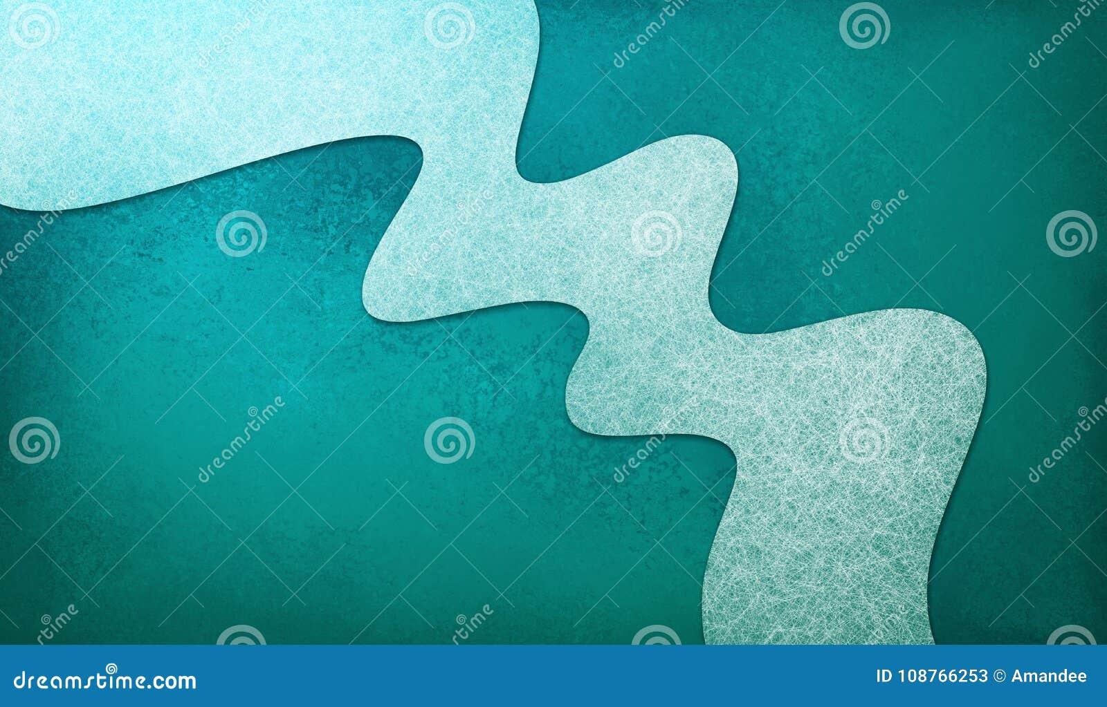 El fondo azul del trullo abstracto con la raya material ondulada blanca del diseño, elemento del diseño tiene textura