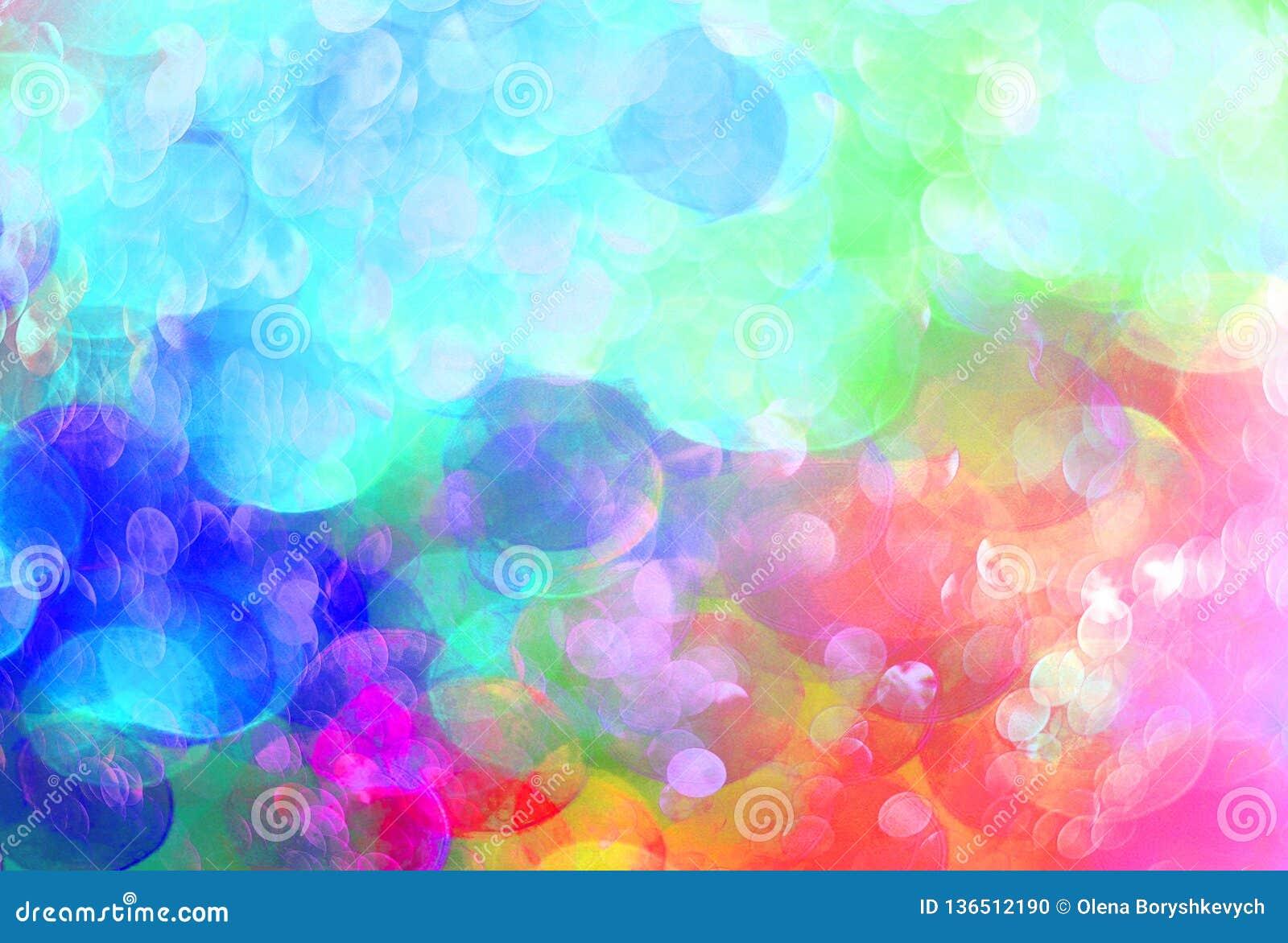 El fondo colorido brillante unfocused