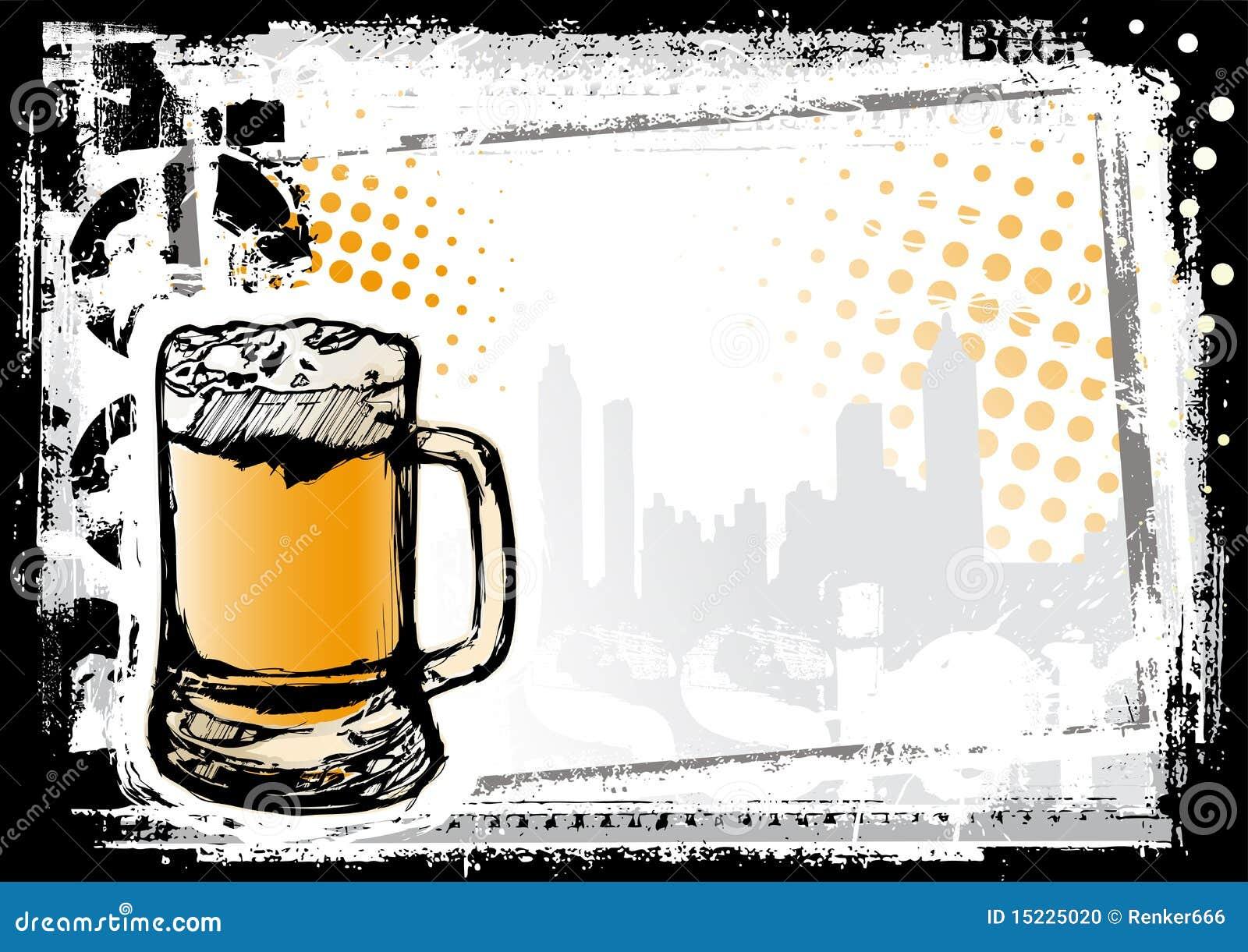 El Fondo Más Fest De La Cerveza Ilustración del Vector - Ilustración ...