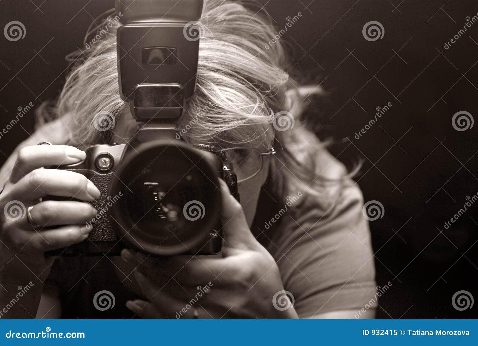 El fotógrafo - mujer
