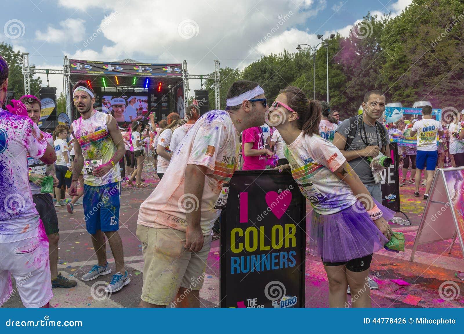 El funcionamiento Bucarest del color