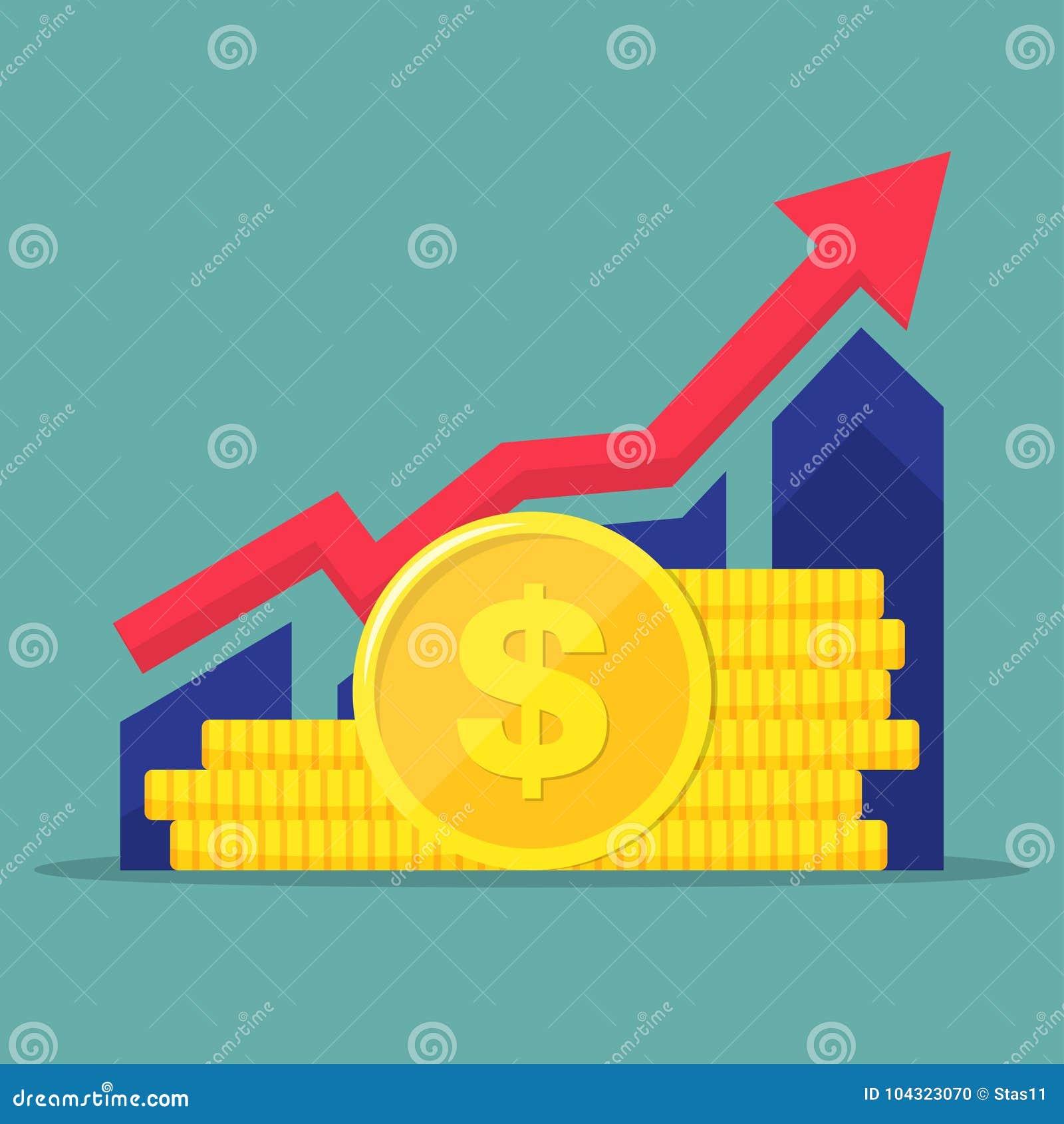 El funcionamiento financiero, informe de la estadística, impulsa la productividad del negocio, fondo mutuo, rentabilidad de la in