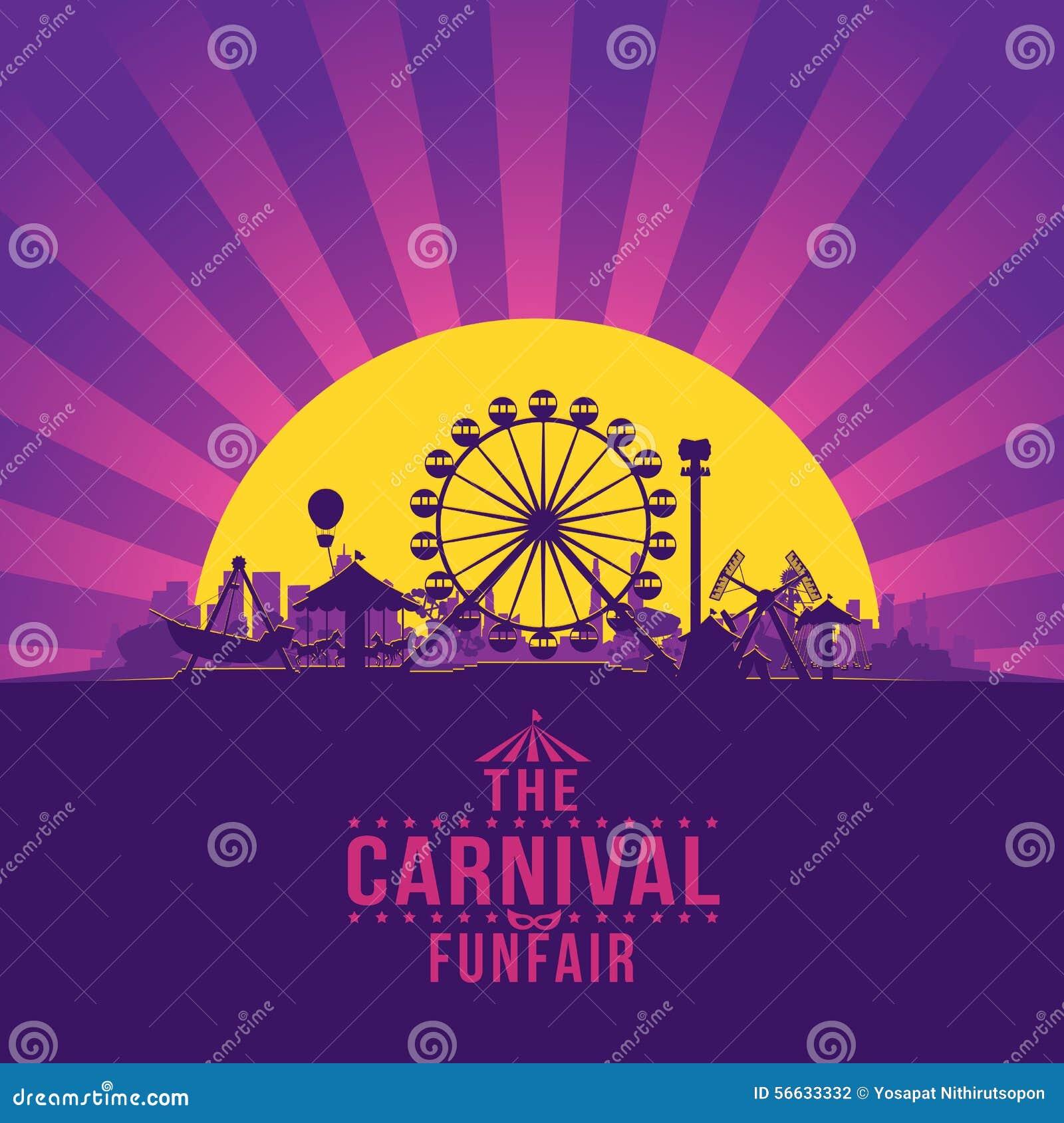 El funfair del carnaval