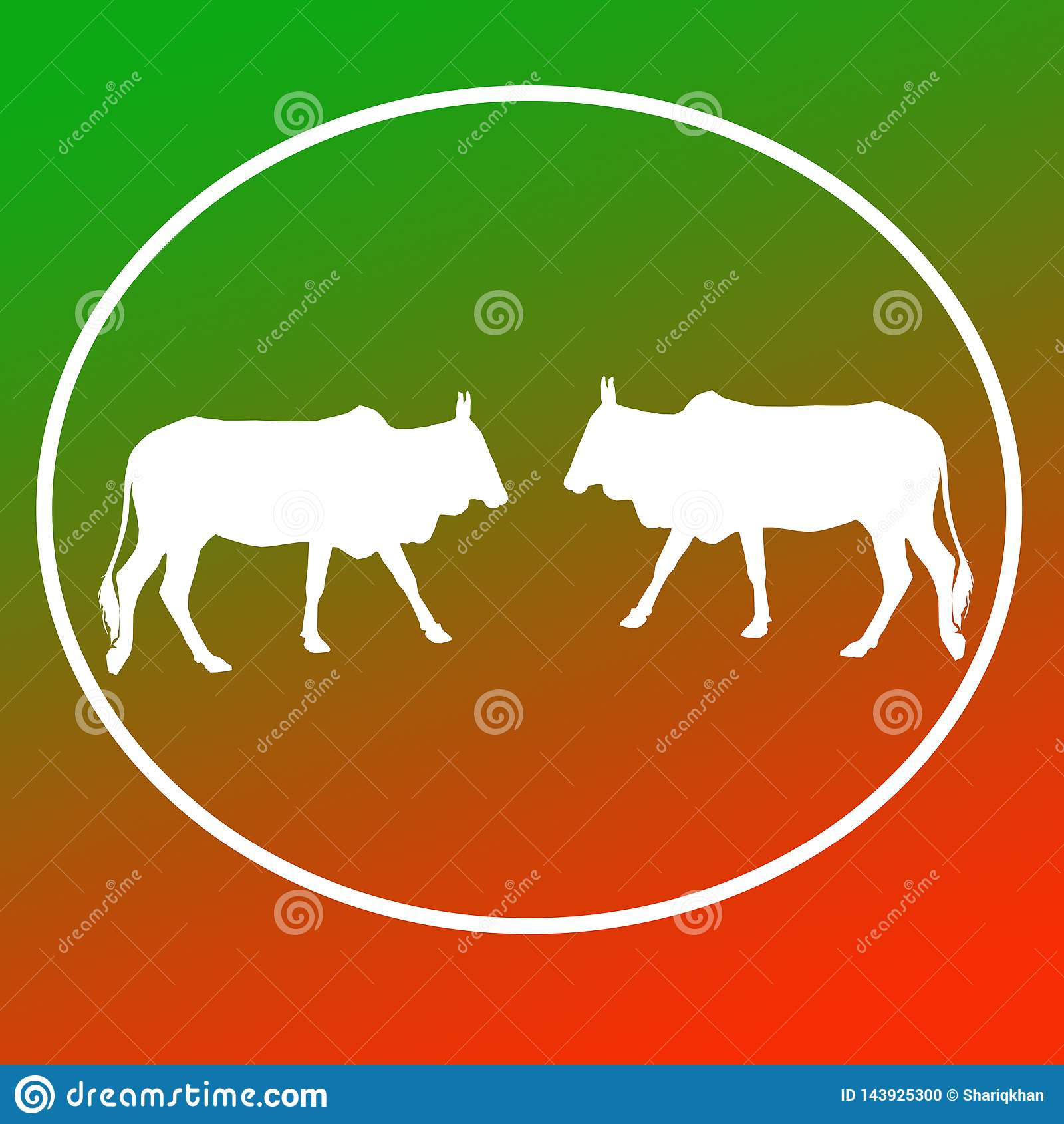 El ganado nacional acobarda a Logo Background Banner