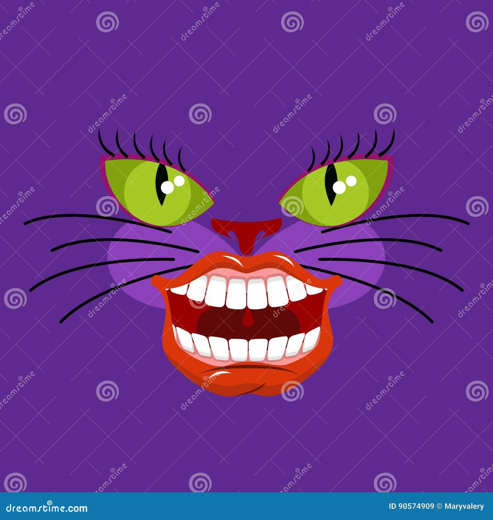 Alicia Y Gato De Cheshire Ilustraciones Stock, Vectores, Y Clipart ...