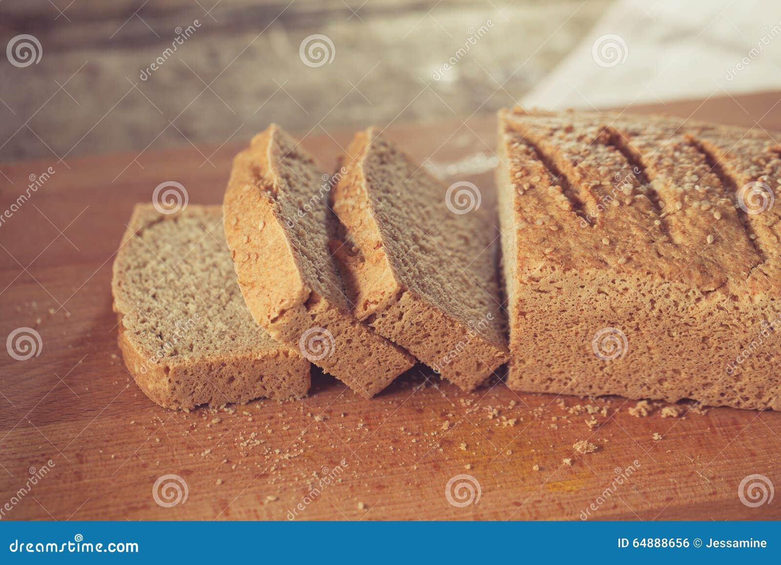 El gluten libera el pan
